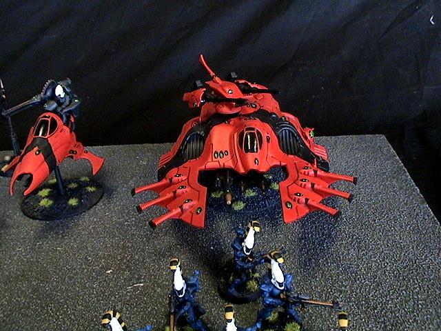 Eldar, Saim-hann, Warhammer 40,000, Wave Serpent