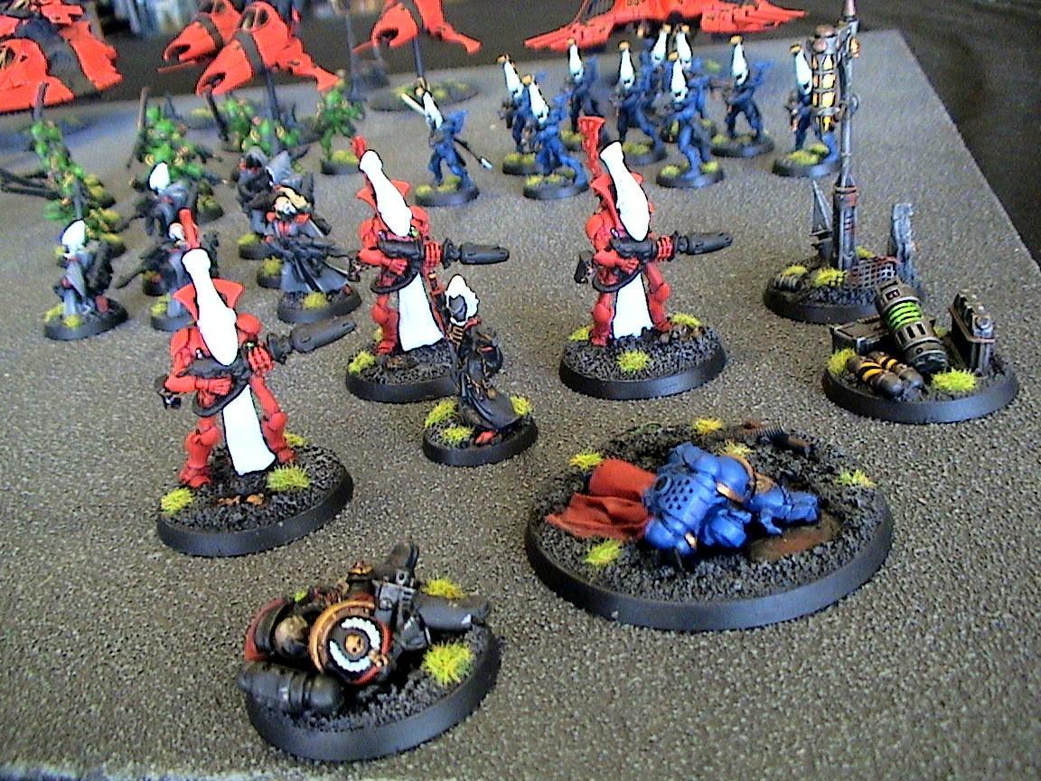 Eldar, Saim-hann, Warhammer 40,000, Wraithguard