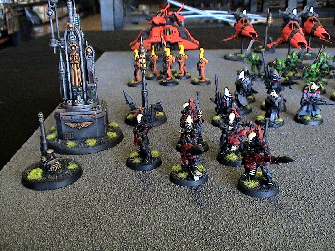 Army, Display, Eldar, Saim-hann, Warhammer 40,000