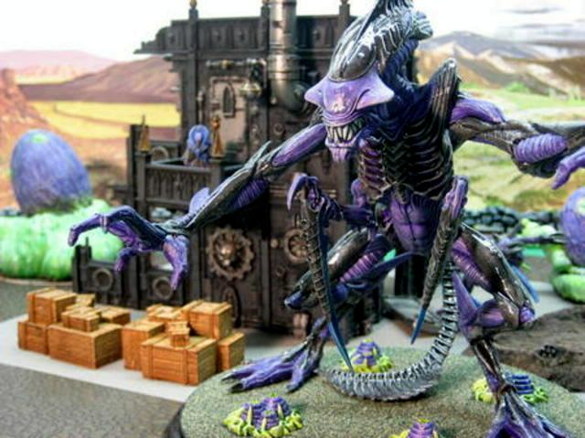 Alien, Hive Tyrant, Queen, Tyranids