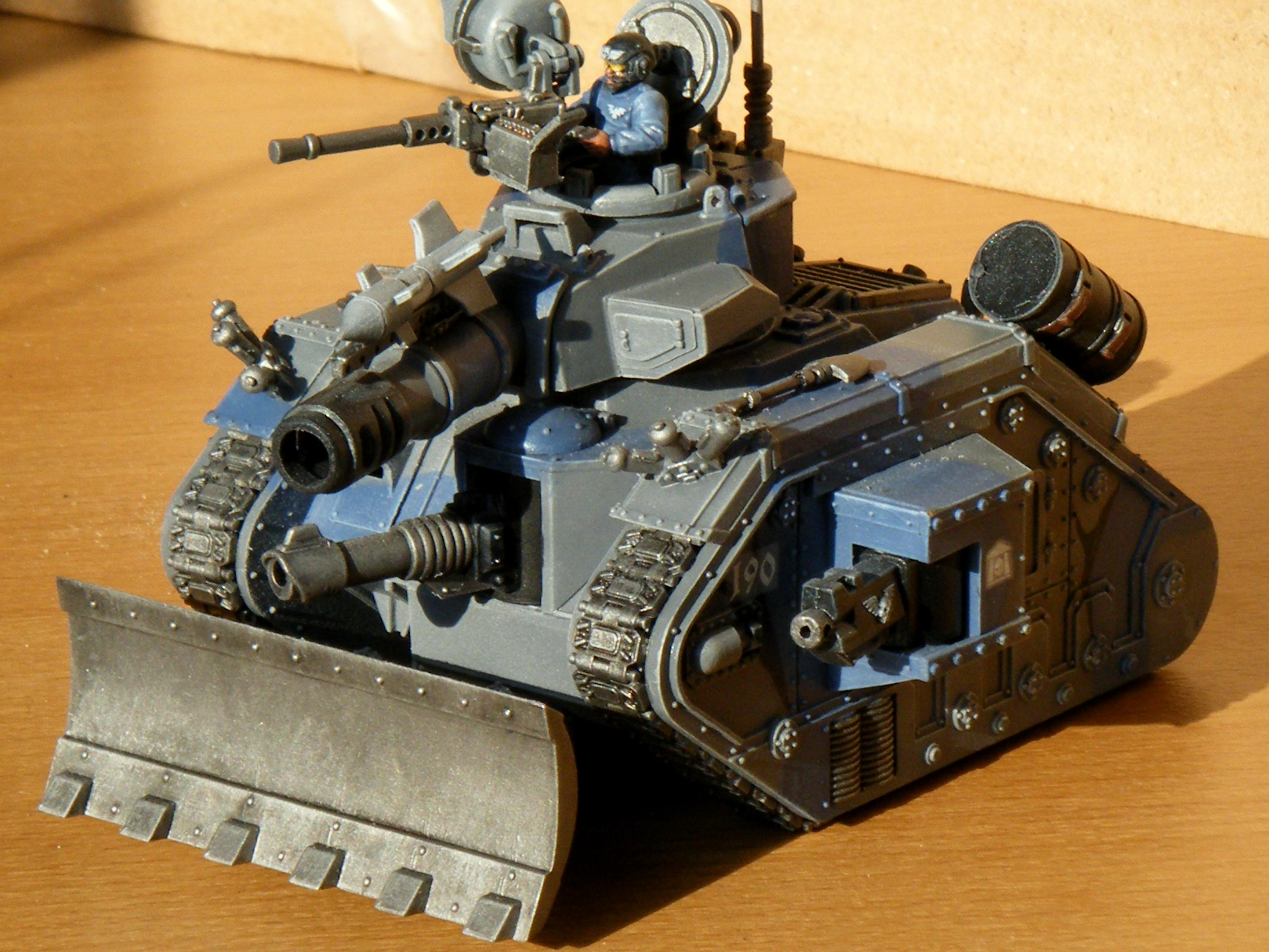 190th Leman Russ Battle Tank Front