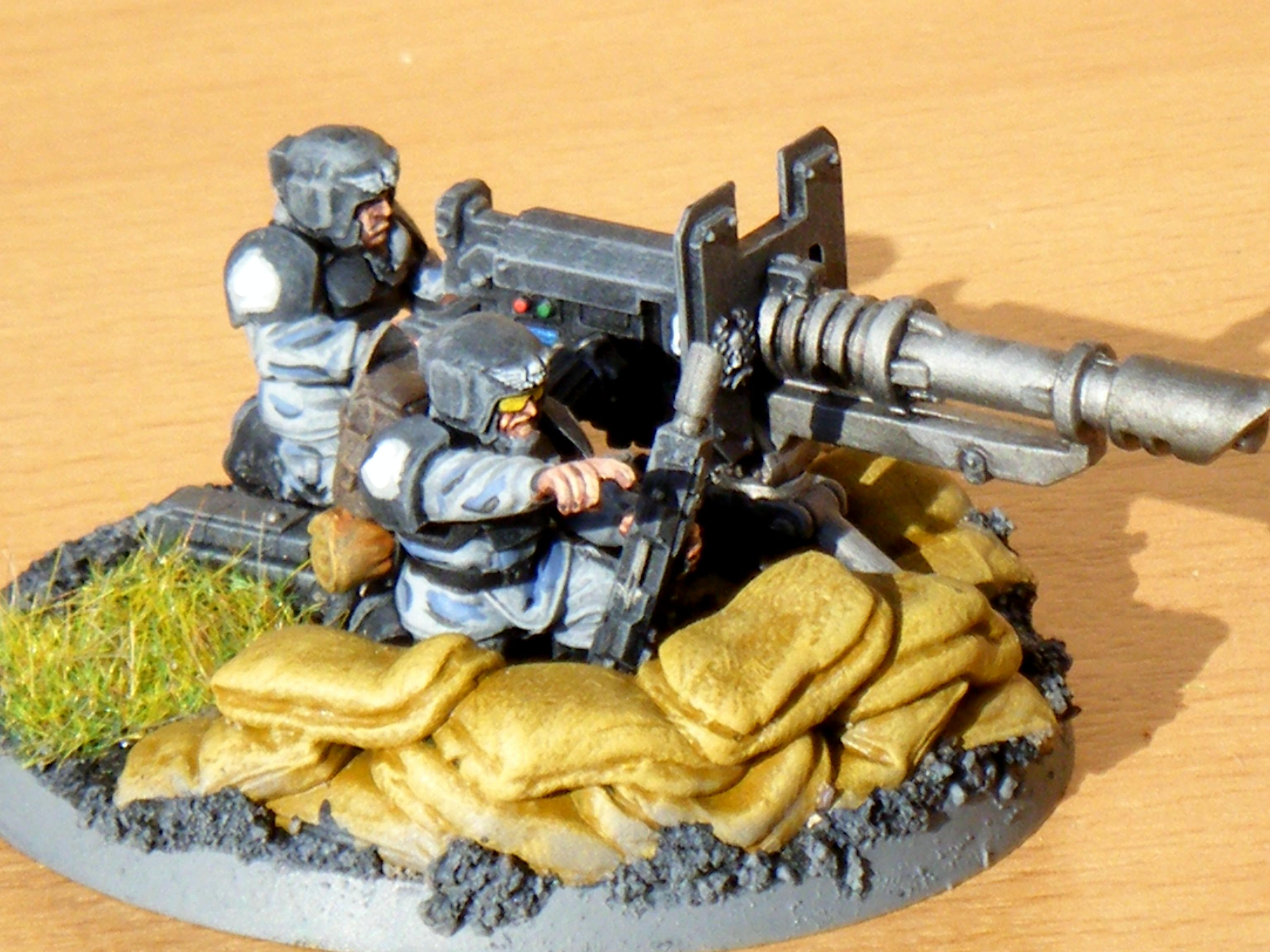 190th Imperial Guard Heavy Weapon Squad Beta