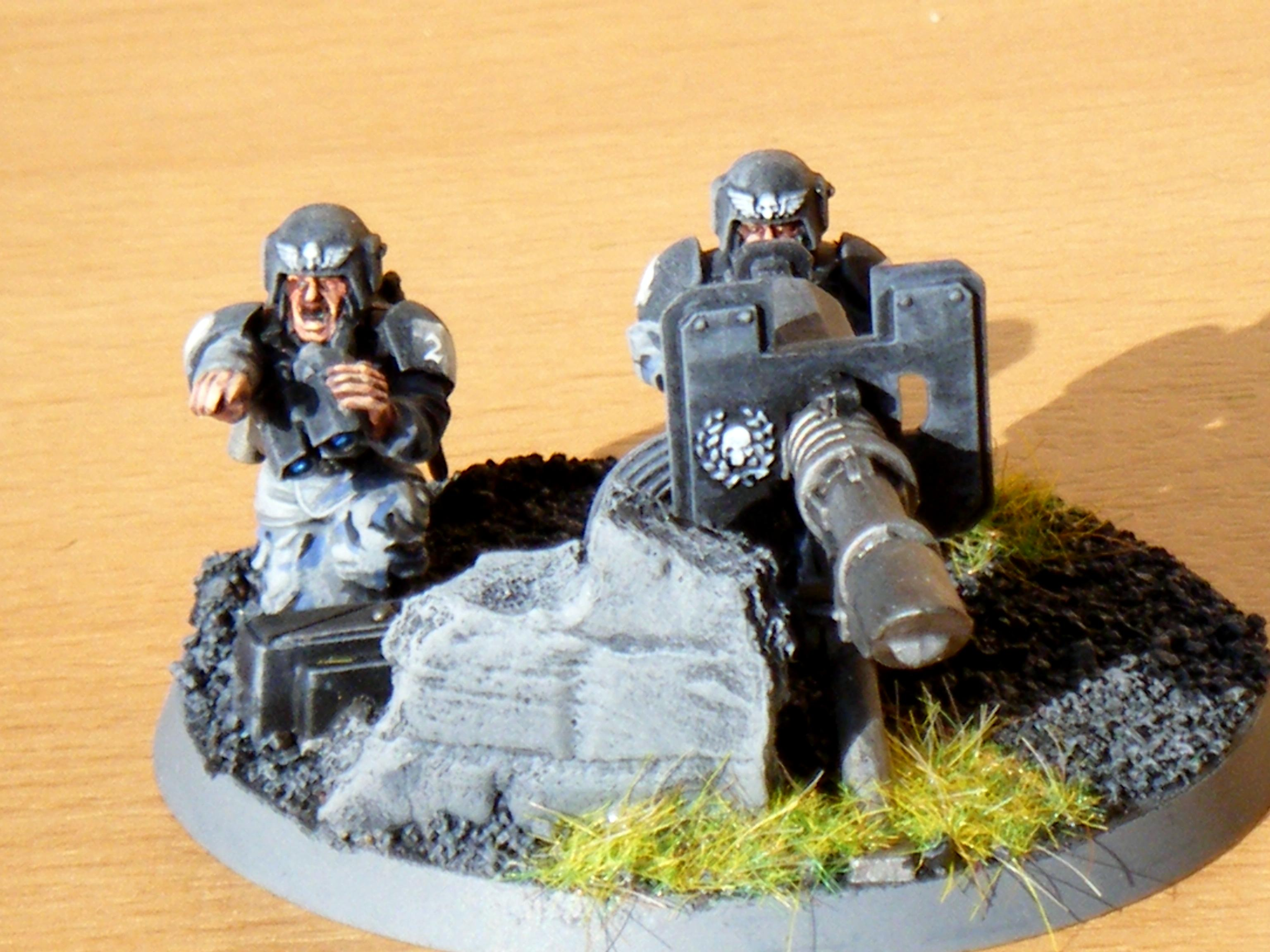 190th Imperial Guard Heavy Weapon Squad Charlie