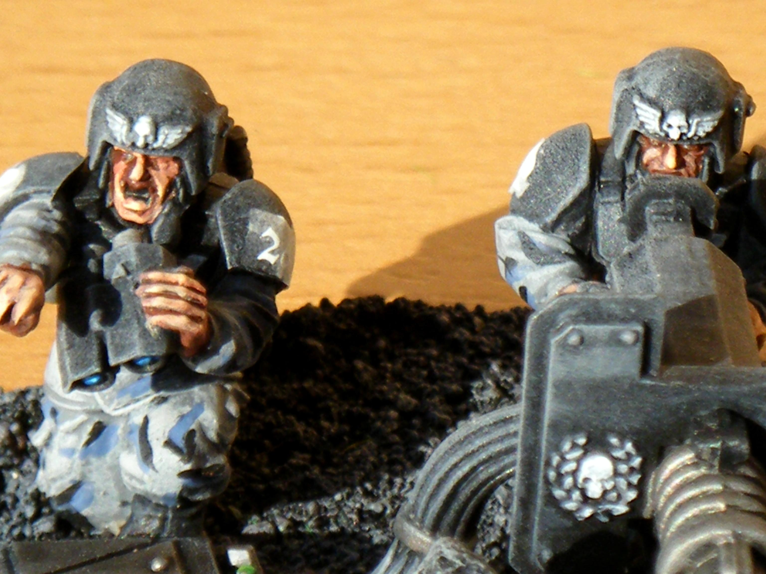 Cadians, Heavy Weapon, Imperial Guard
