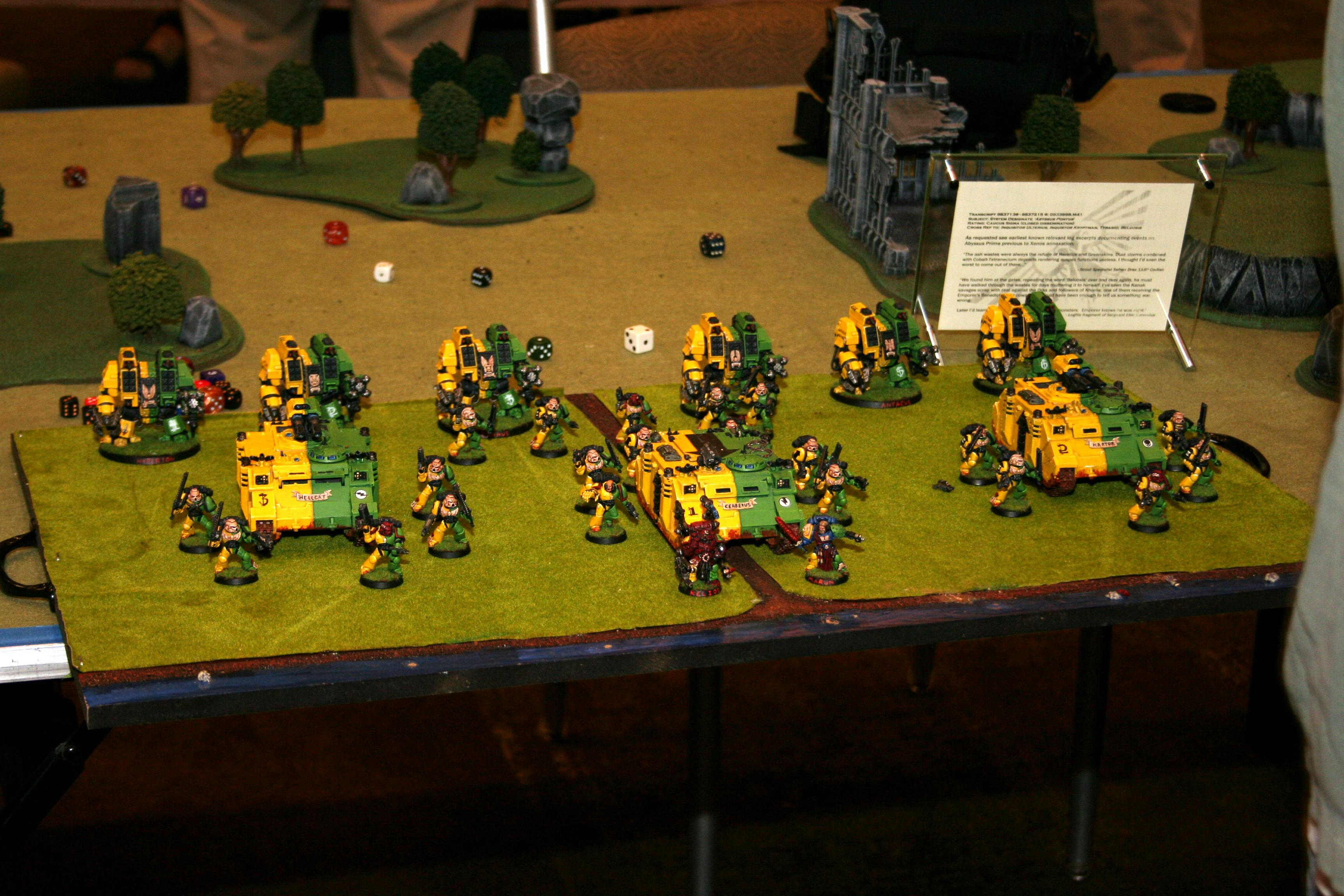 Adepticon 2010, Army, Ironclad, Pain Train, Space Marines, Warhammer 40,000
