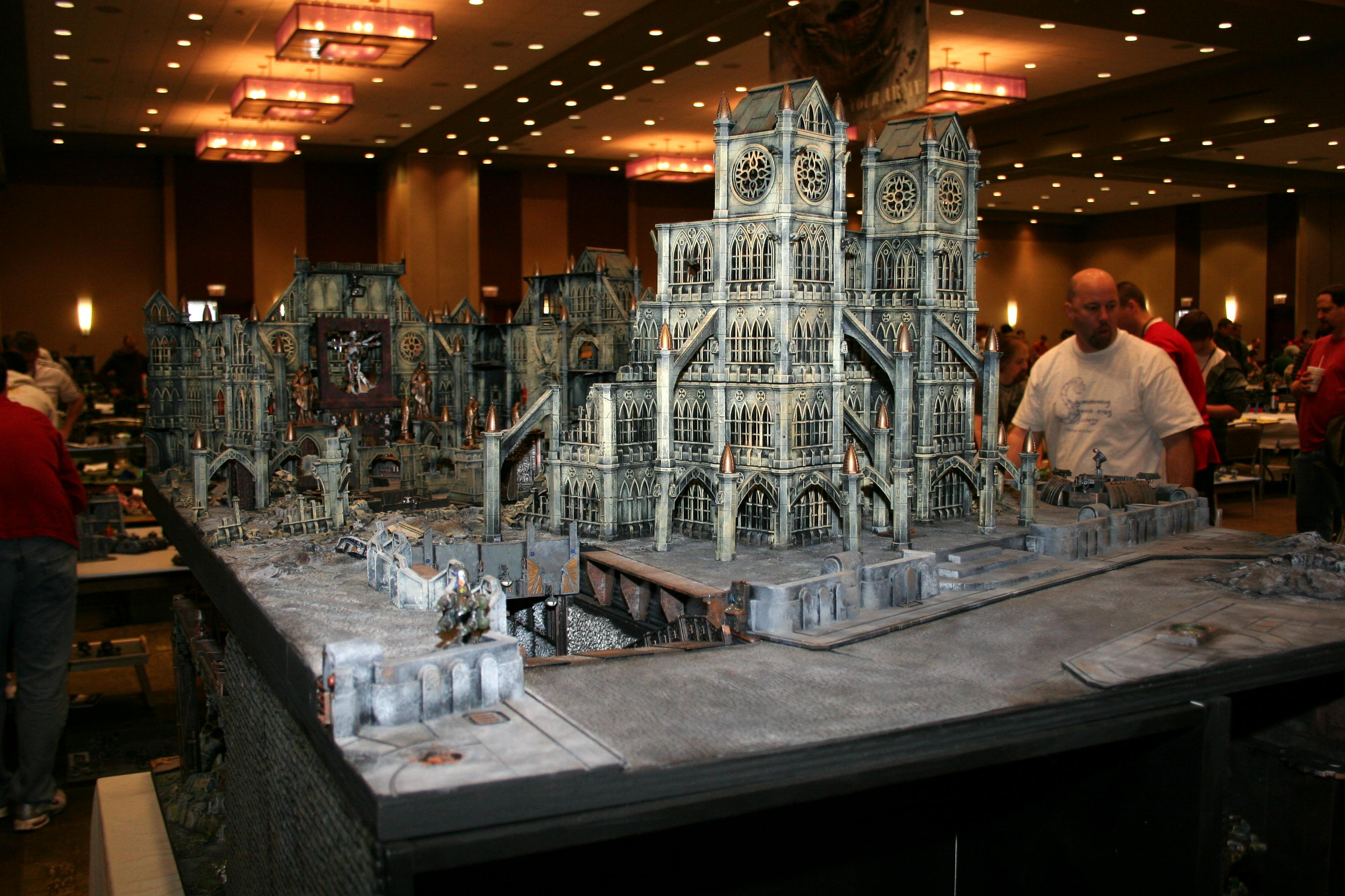 Adepticon 2010, Big, City, Huge, Large, Pegasus, Terrain