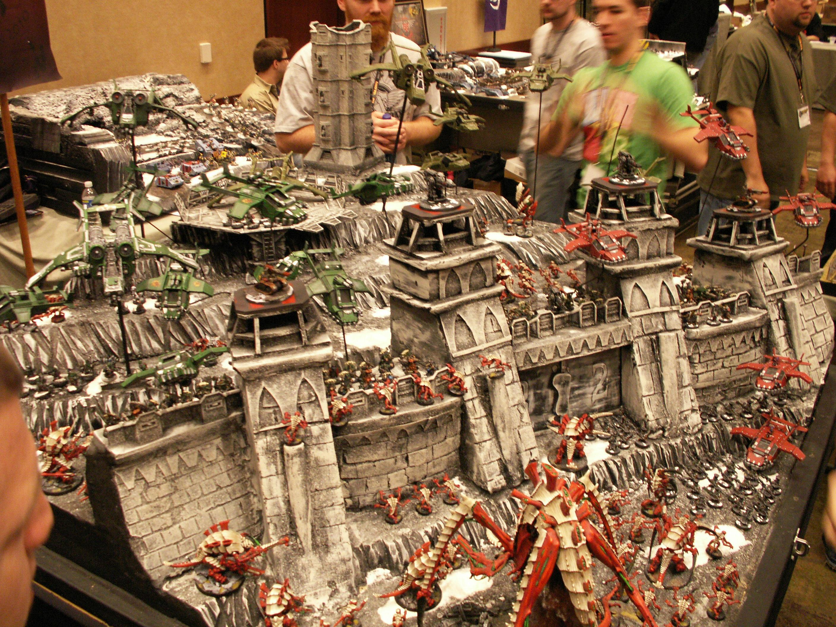 Adepticon 2010, Display Board, Guard, Imperial Fortress, Tyranids