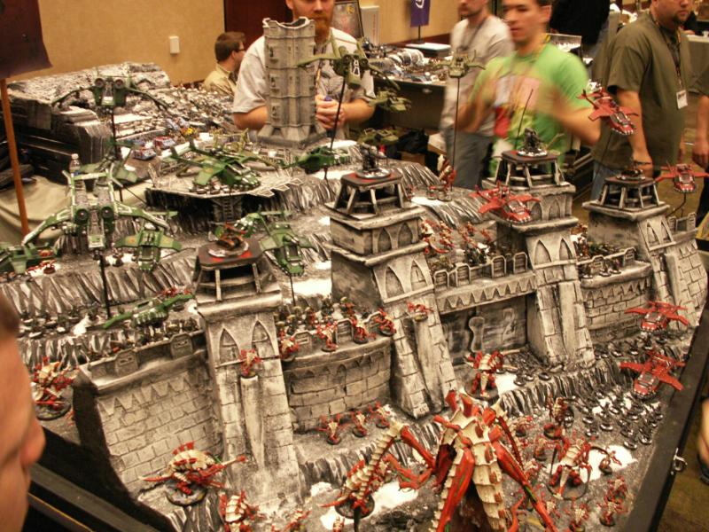 Adepticon 2010 Display Board Guard Imperial Fortress