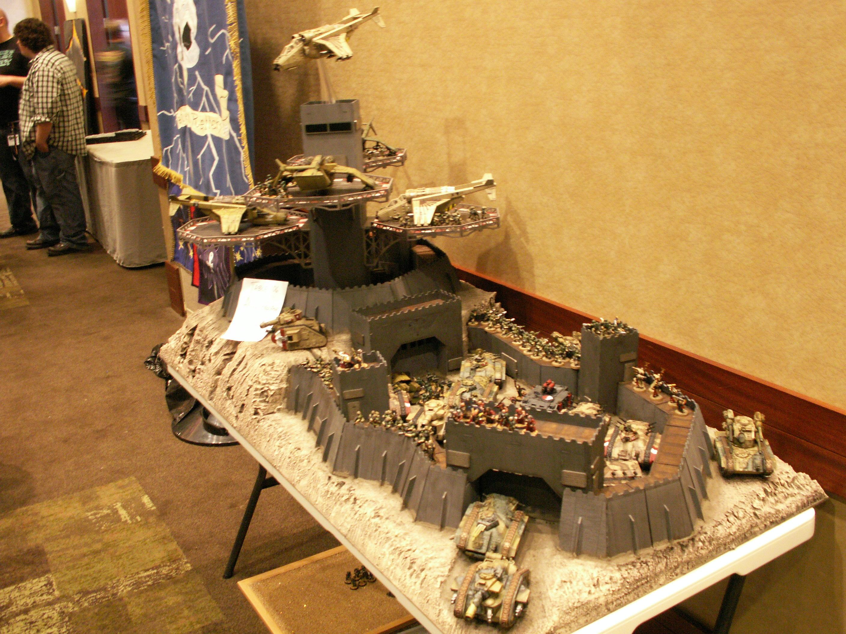 Adepticon 2010, Fortress, Imperial Guard, Landing Pad, Valkyrie