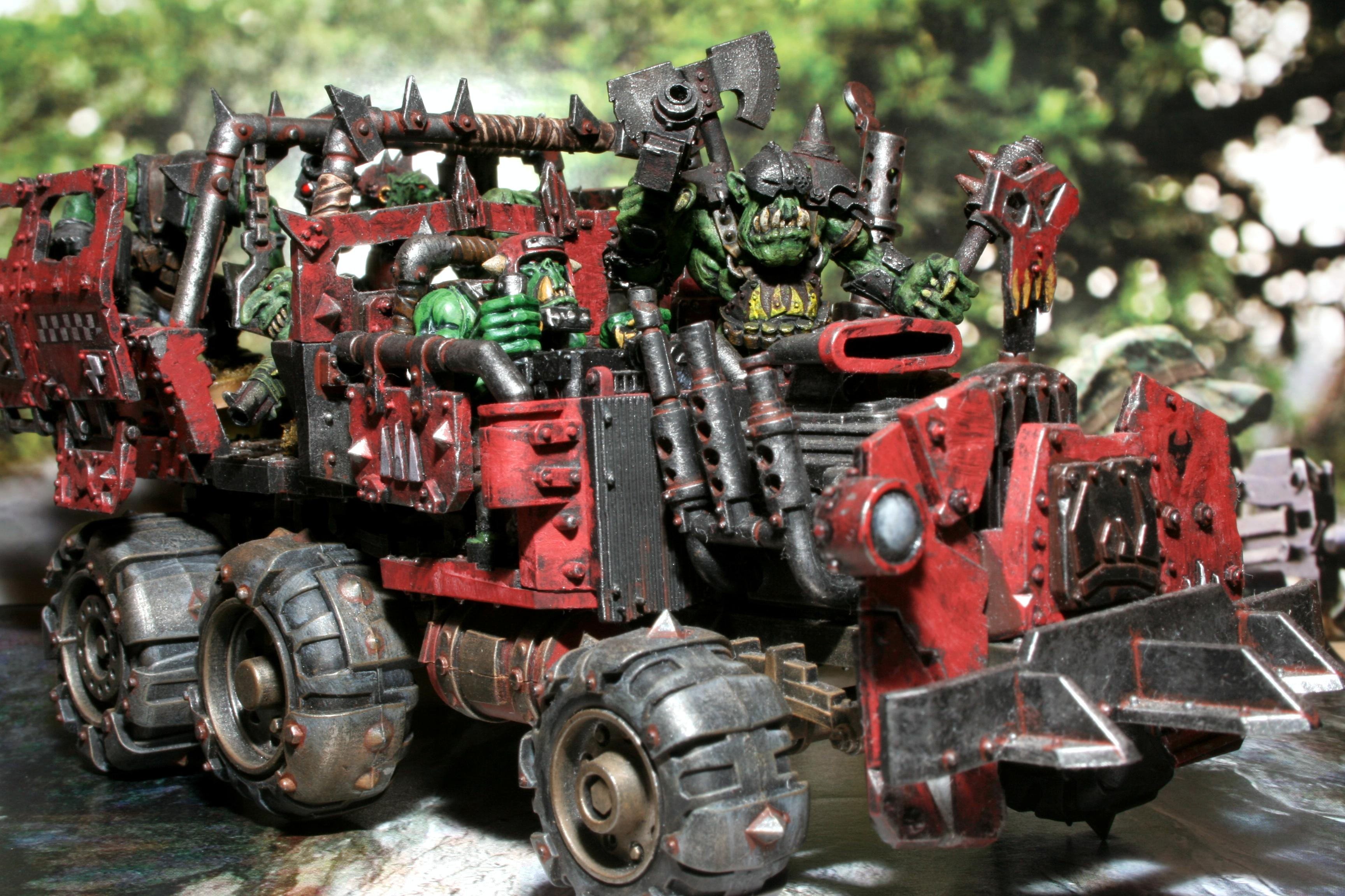 Orks, Trukk, Warhammer 40,000