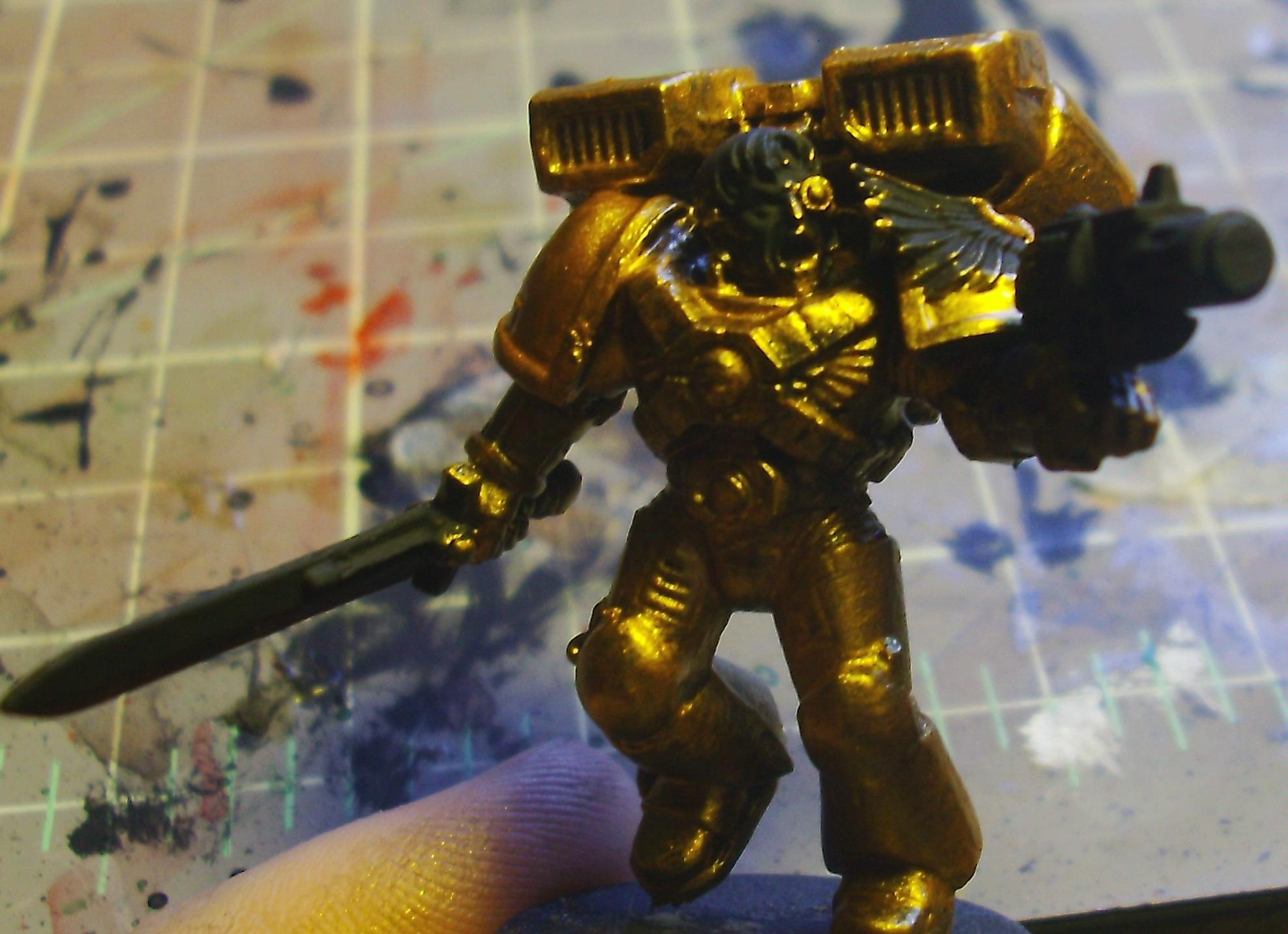 Couple layers of gold, WIP