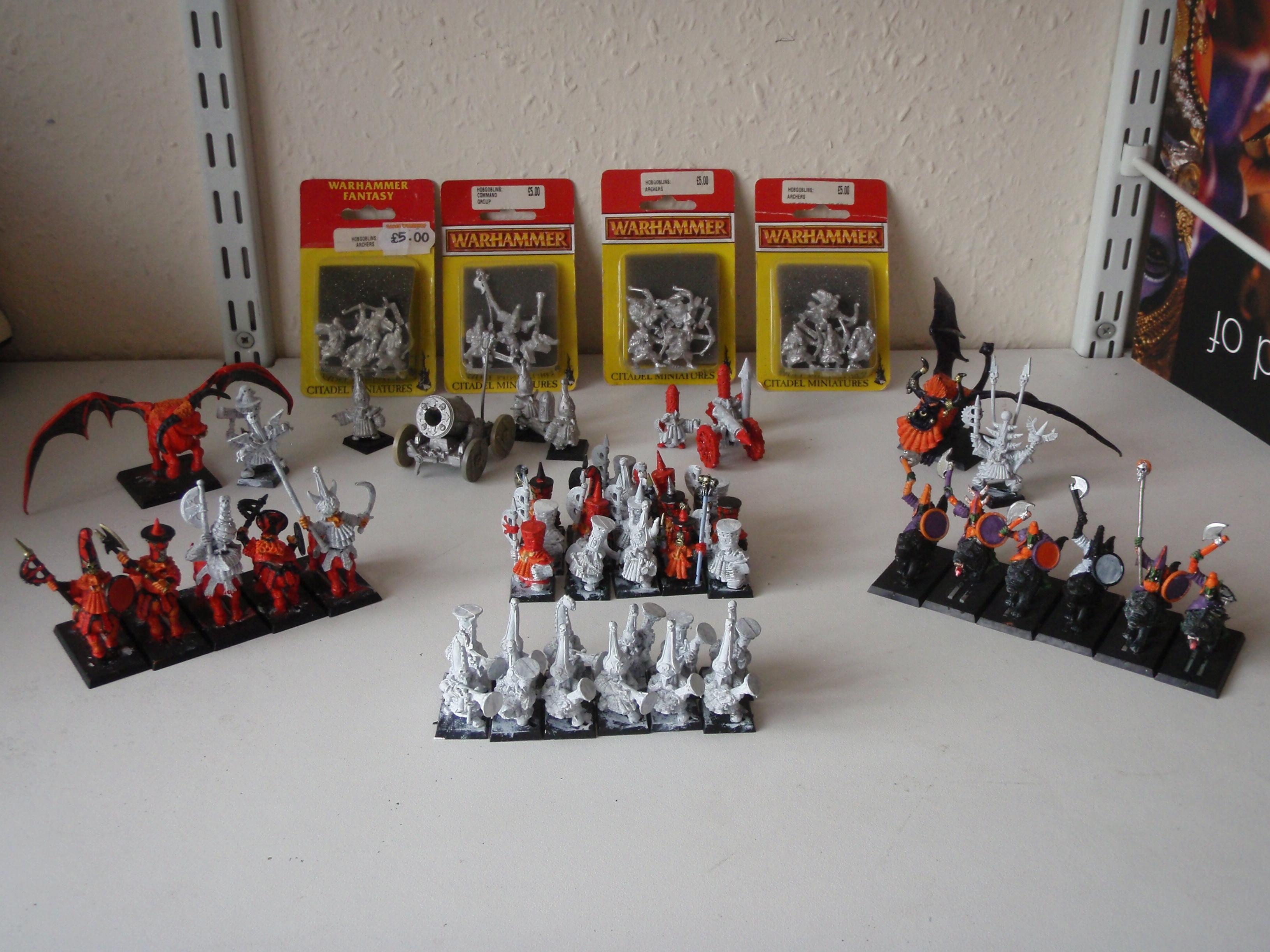 Chaos Dwarf Army WIP