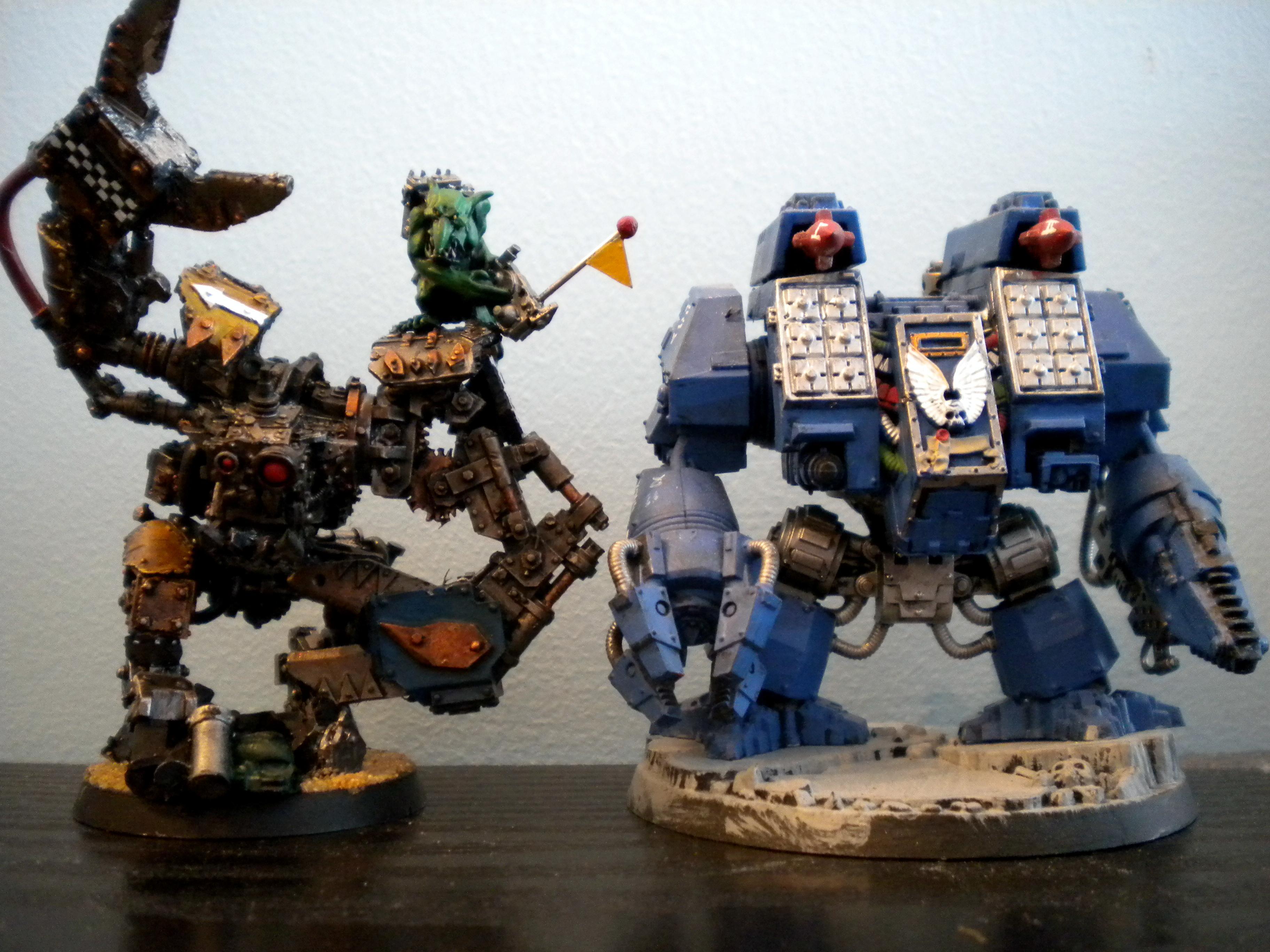 Ironclad, Runt Bot, Venerable Dreadnaught