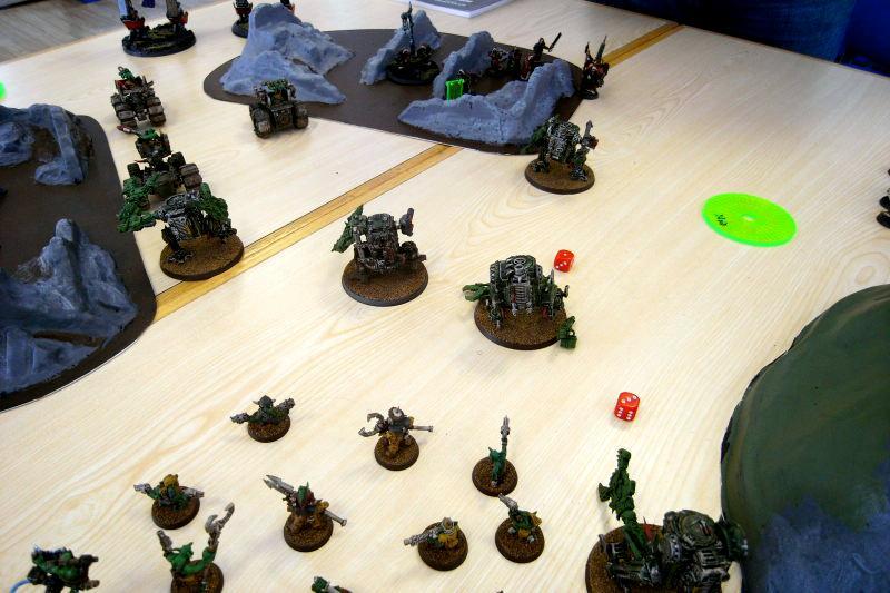 Battle, Ork Dredds, Ork Walkers, Orks