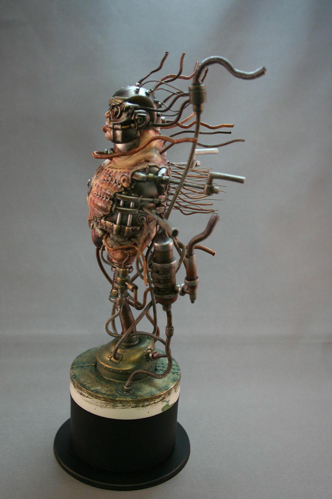 Dreadnought, Pilot, Sculpting, Space Marines, Warhammer 40,000