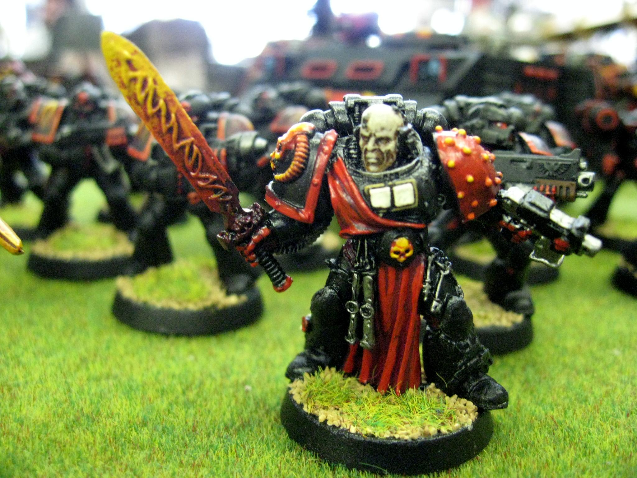 Chapter, Custom, Librarian, Space Marines