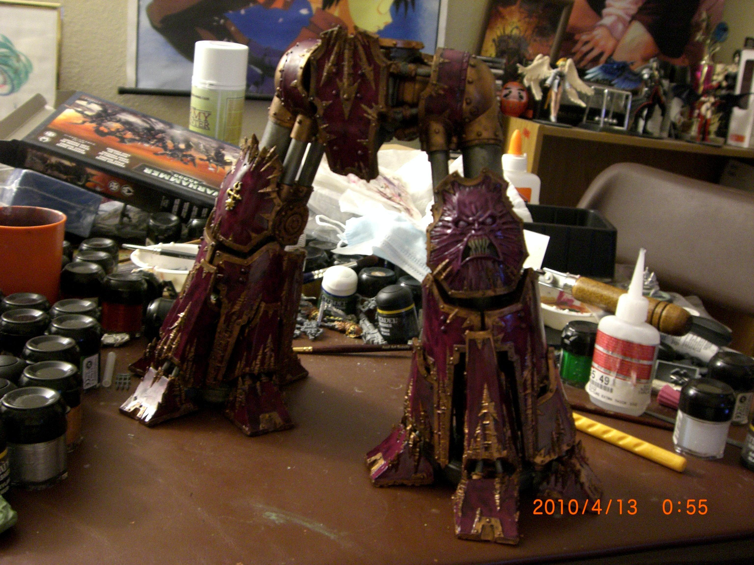 Reaver, Titan, Finished legs
