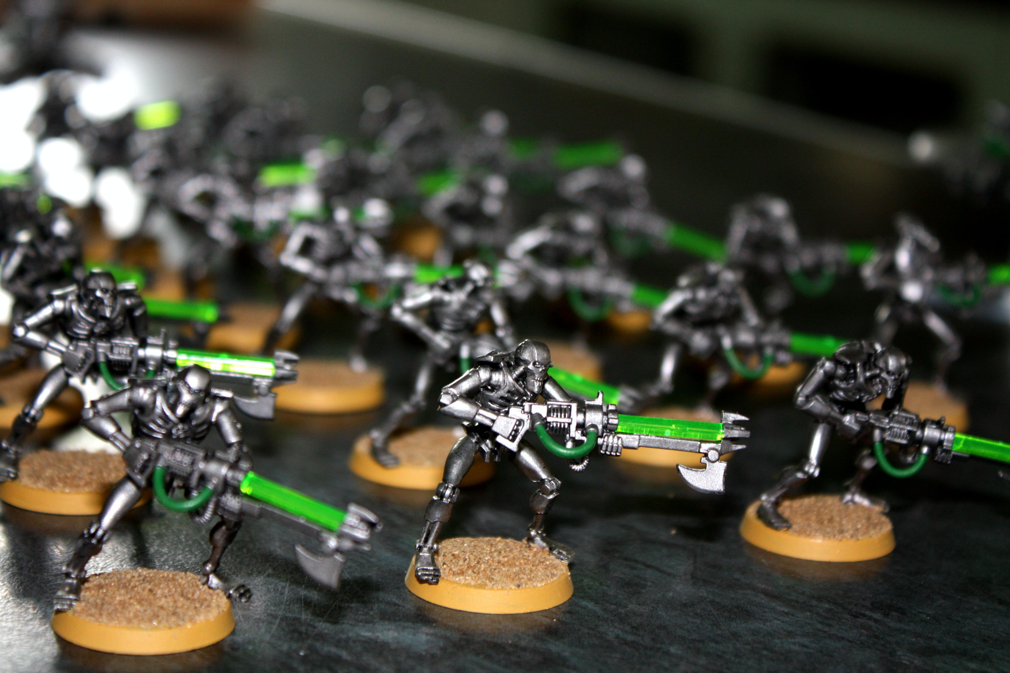 Flayers, Gauss, Necrons, Warriors