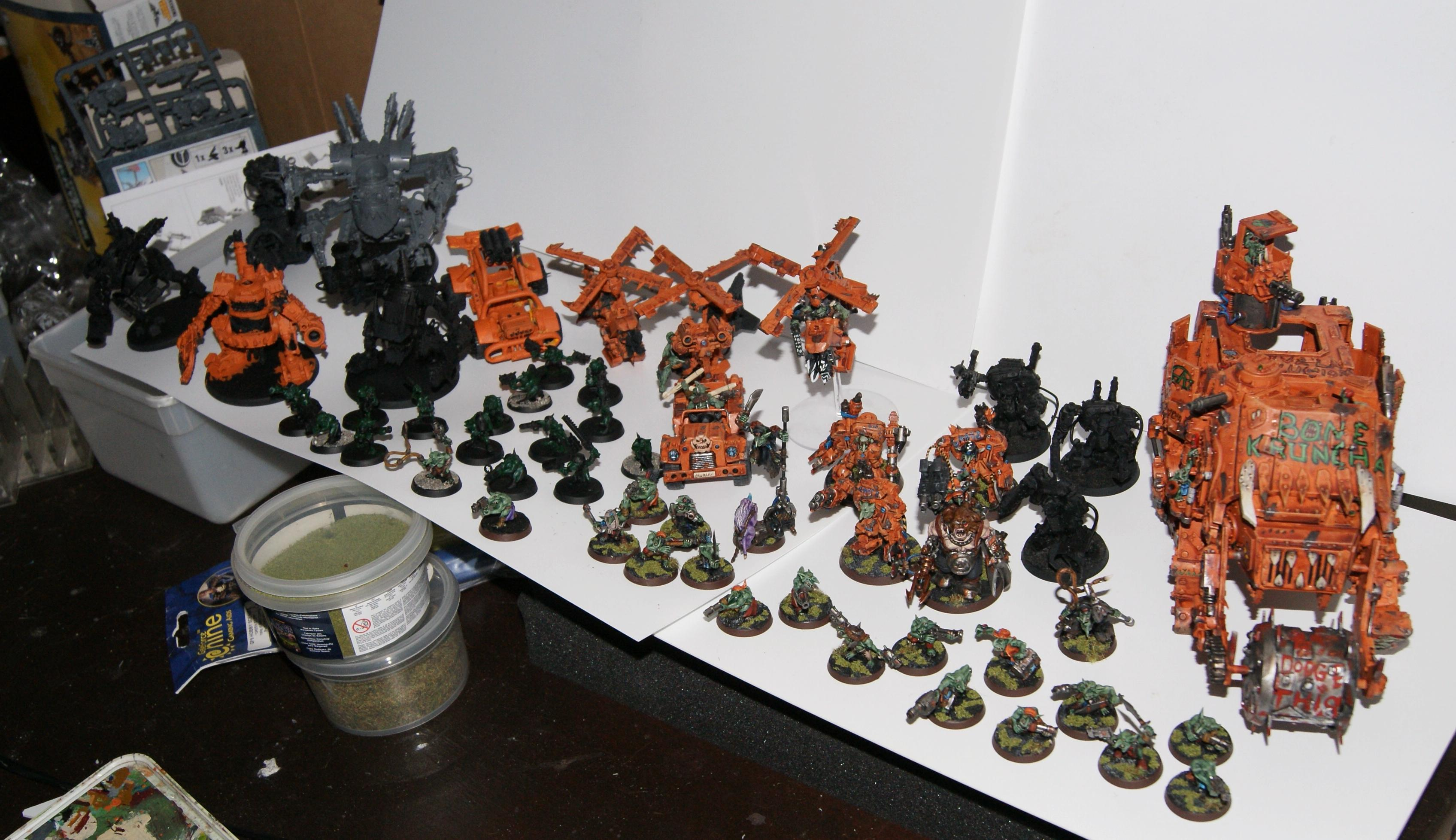 Conversion, Gretchin, Grot Rebellion, Grot Rebels, Grots, Warhammer 40,000, Work In Progress