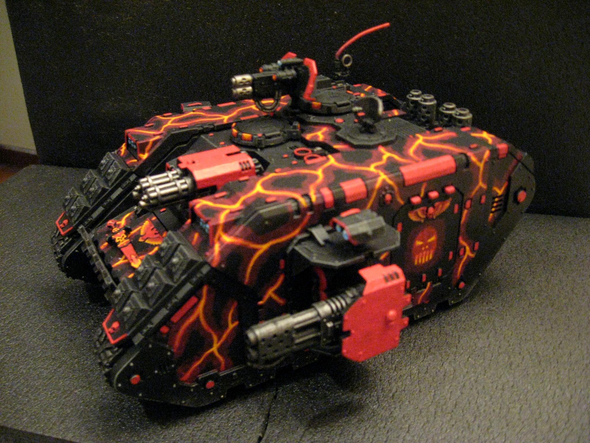 Chapter, Custom, Land Raider, Redeemer, Salamanders, Space Marines, Tactical, Terminator Armor, Vanilla, Vulkan