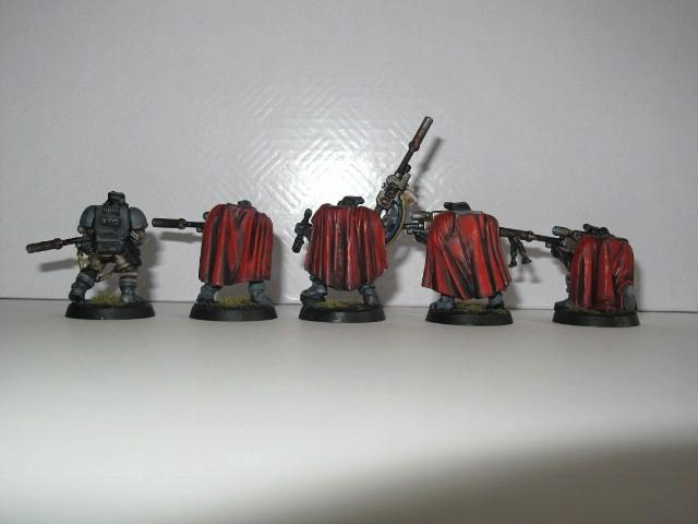 Grey Ravens, Painted, Raven Guard, Saltoric, Scouts, Snipers, Space Marines, Warhammer 40,000