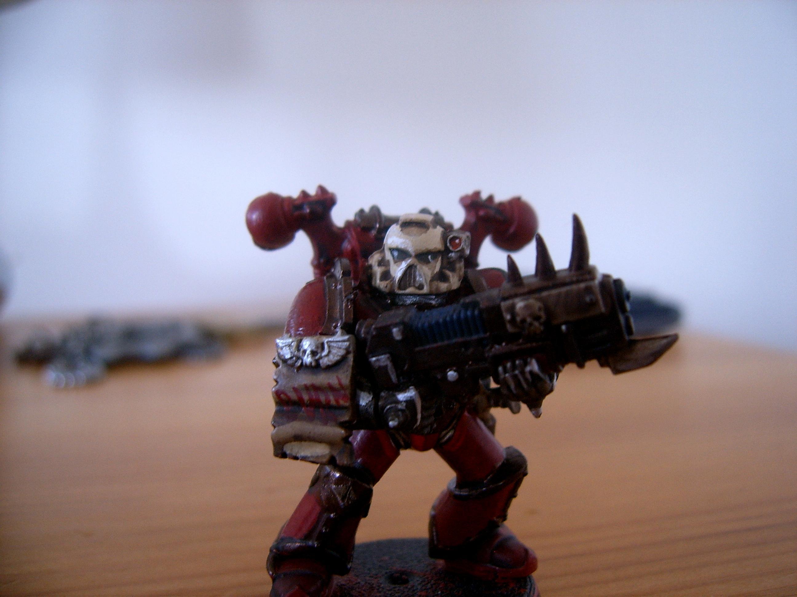 Chaos Space Marines, Squad One Plasm Gunner
