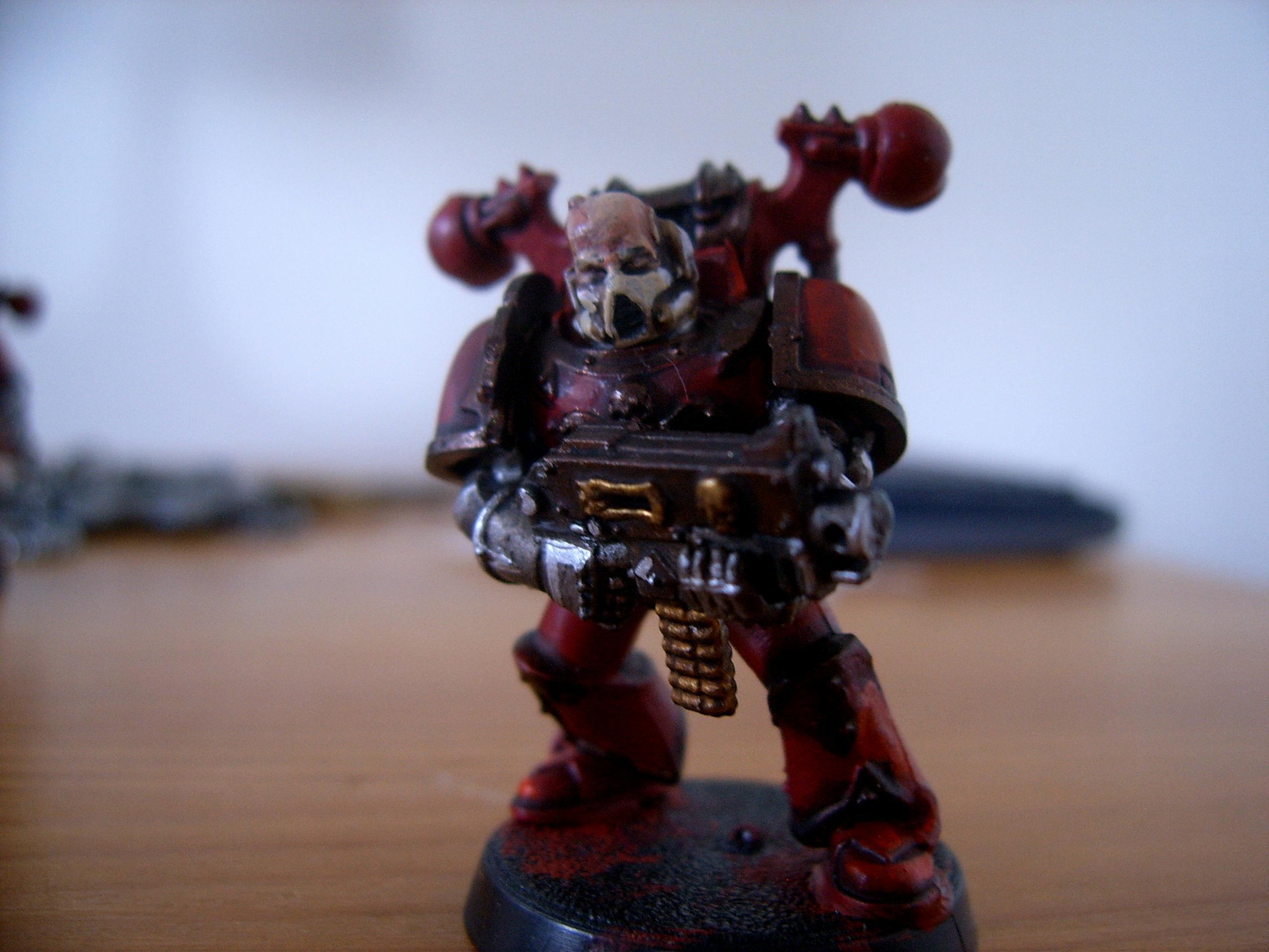 Chaos Space Marines, Squad One: Boltgun