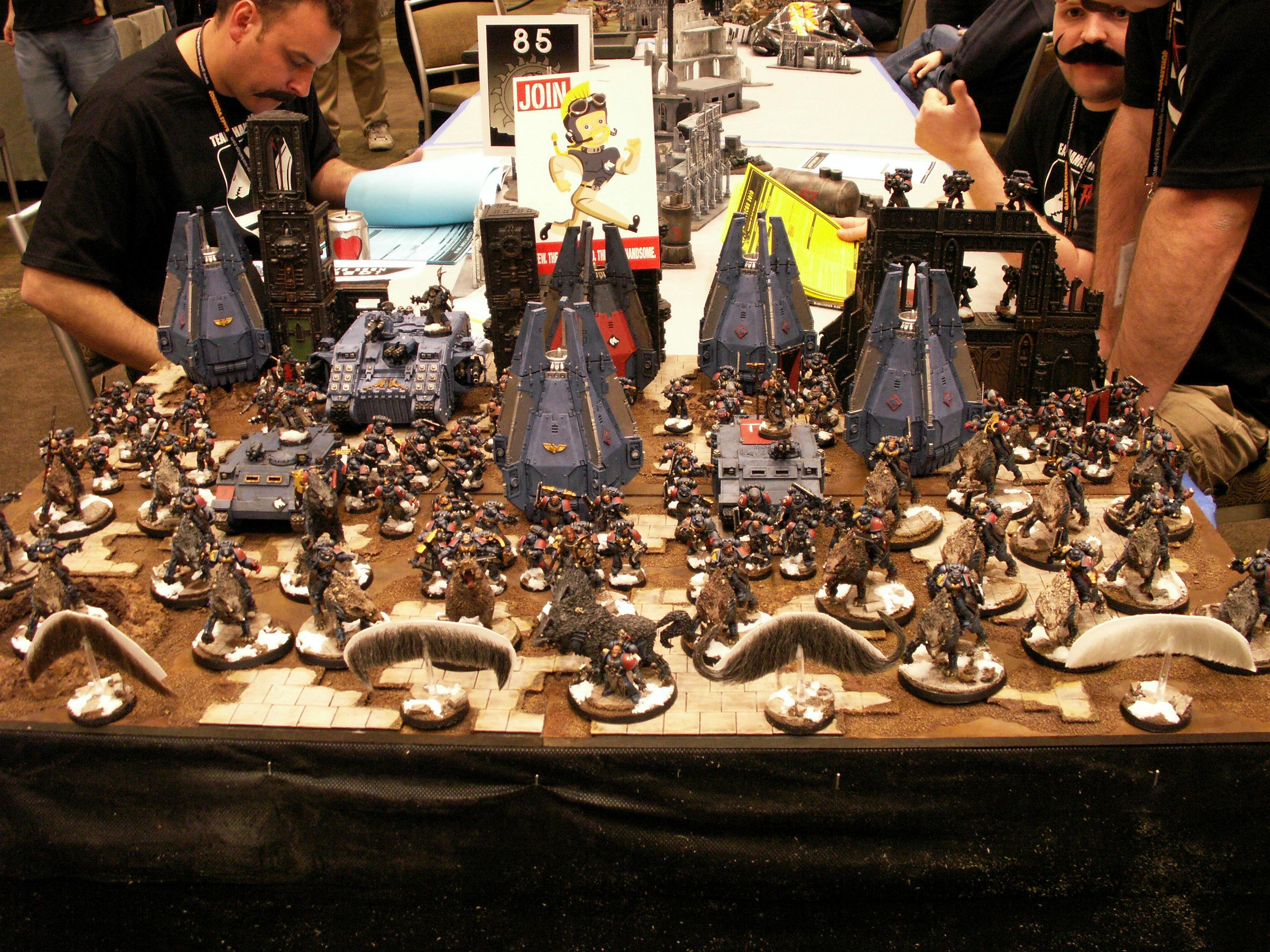 Adepticon, Adepticon 2010, Space Wolves, Thunder Wolf