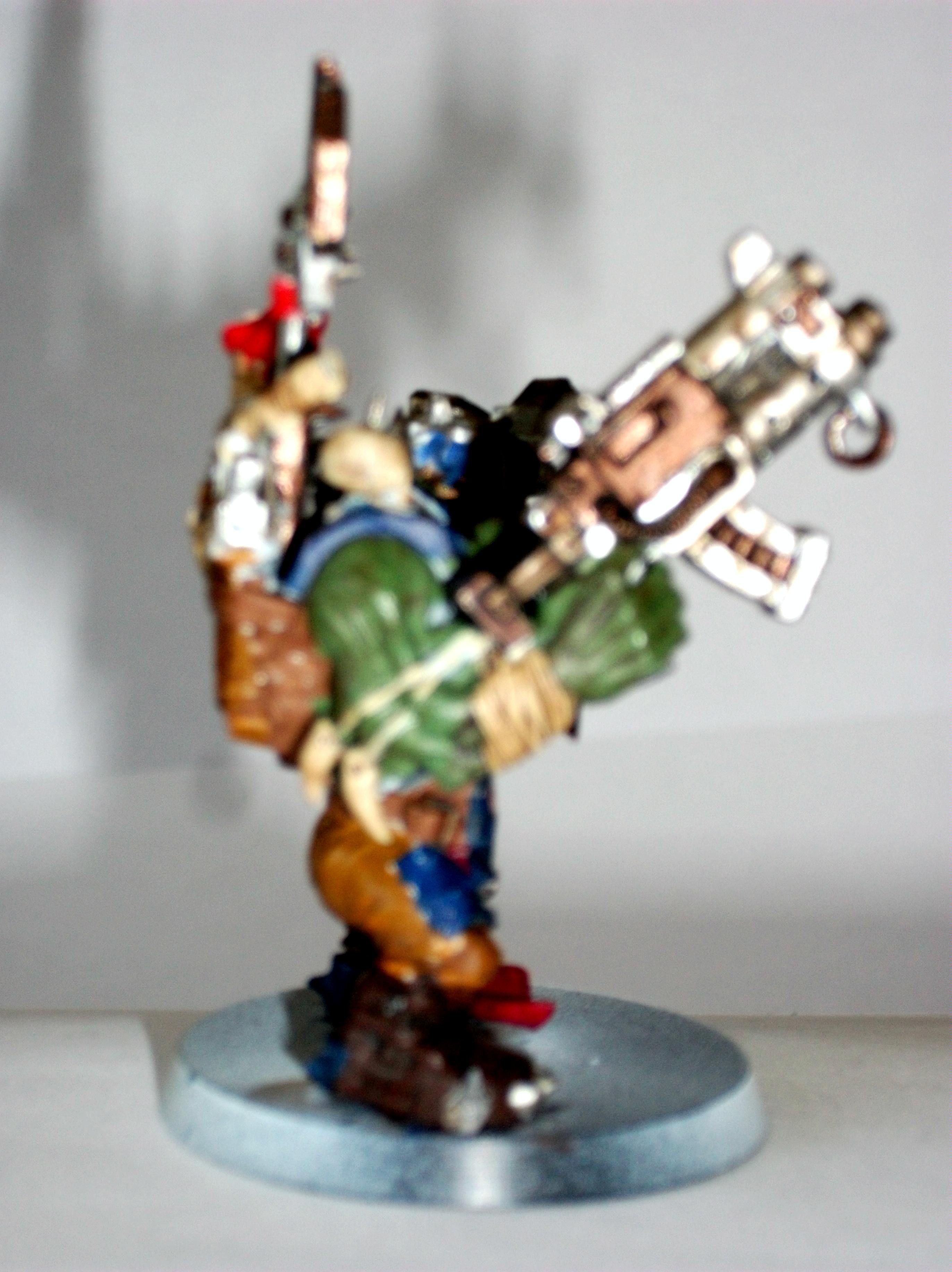 Blurred Photo, Orks, Warboss, Warhammer 40,000