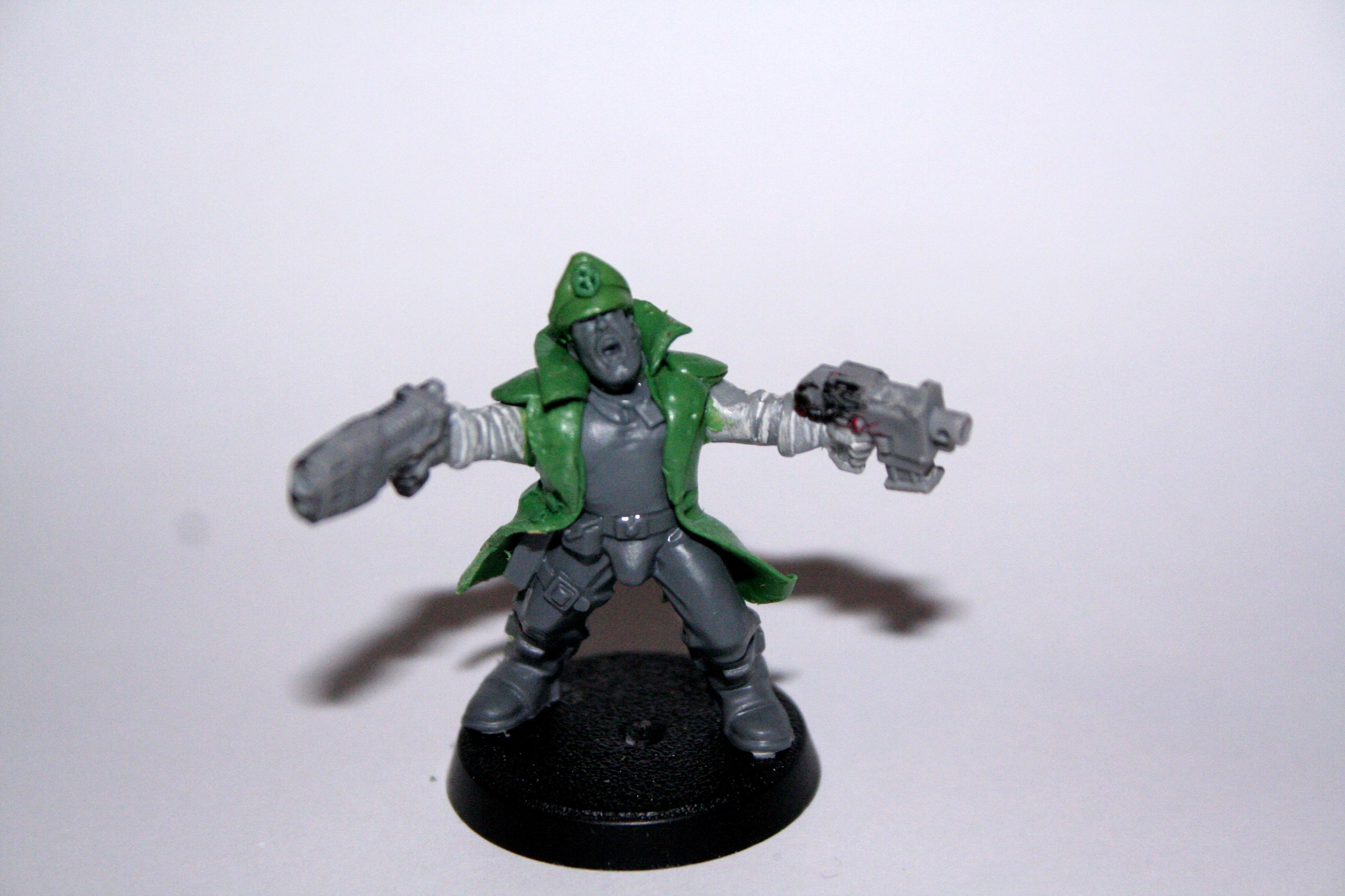 Commissar, Greenstuff, Imperial Guard