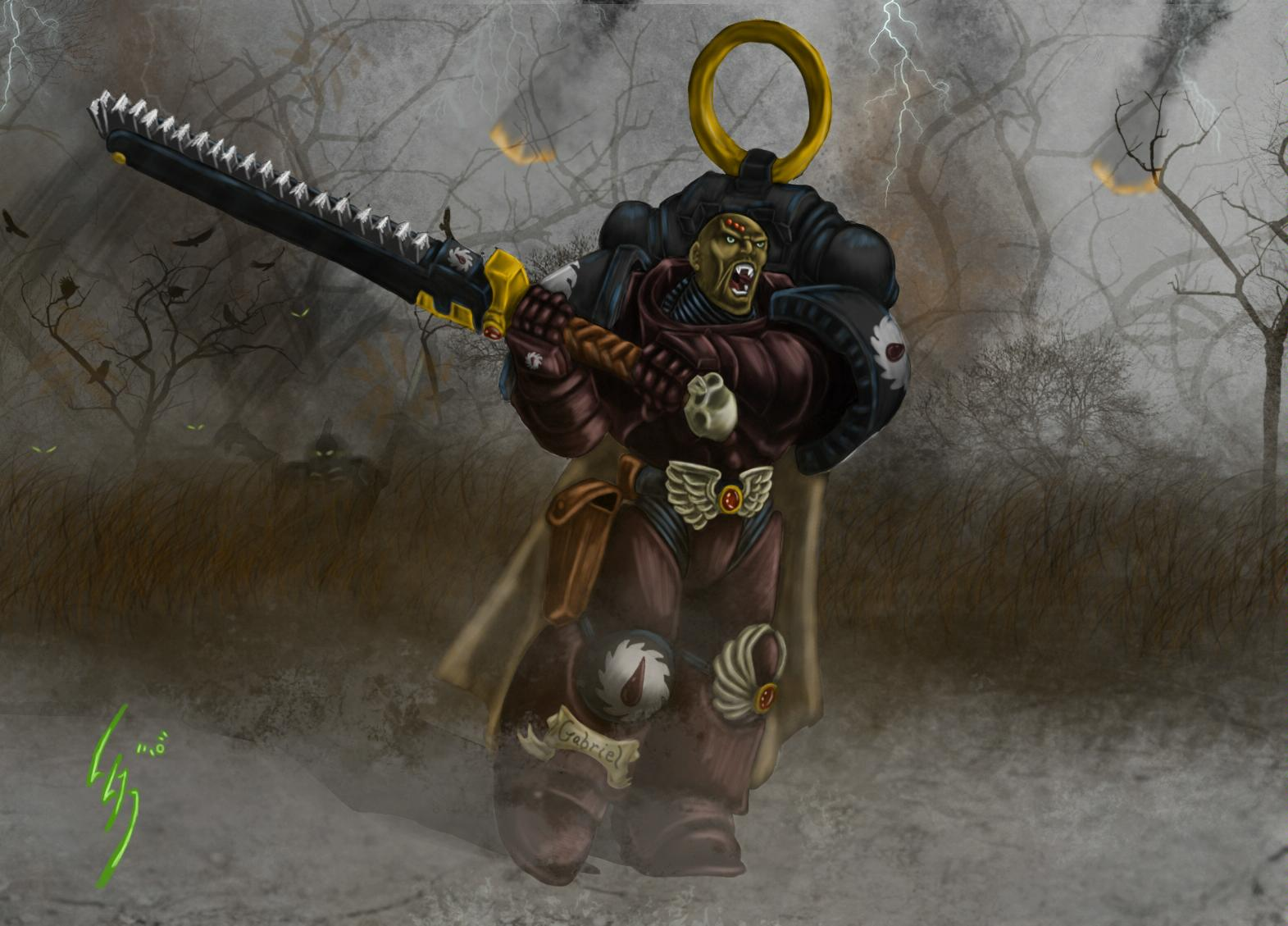 Chapter Master, Flesh Tearers, Space Marines, Warhammer 40,000