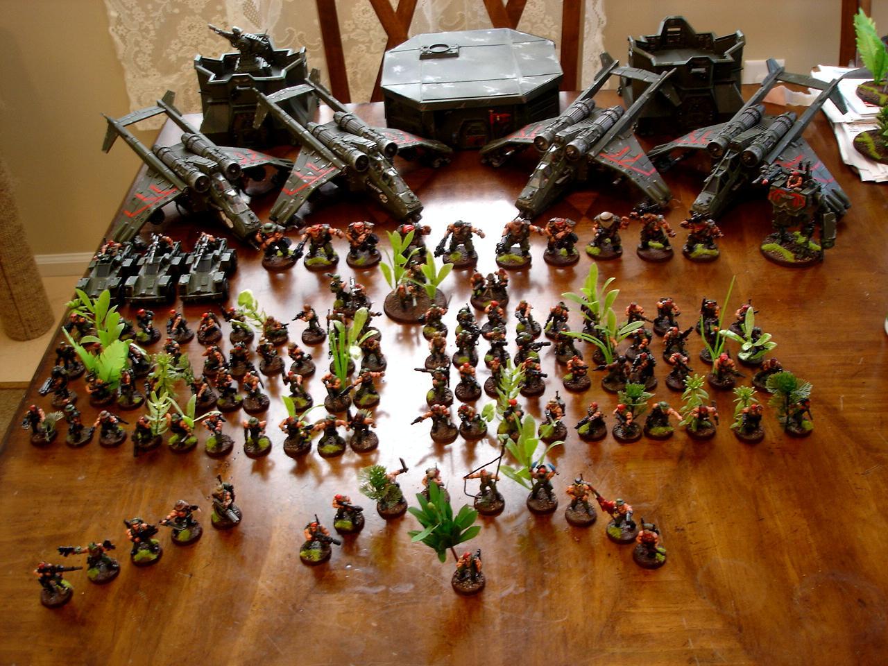 Army, Catachan, Imperial Guard, Warhammer 40,000, Warhammer Fantasy