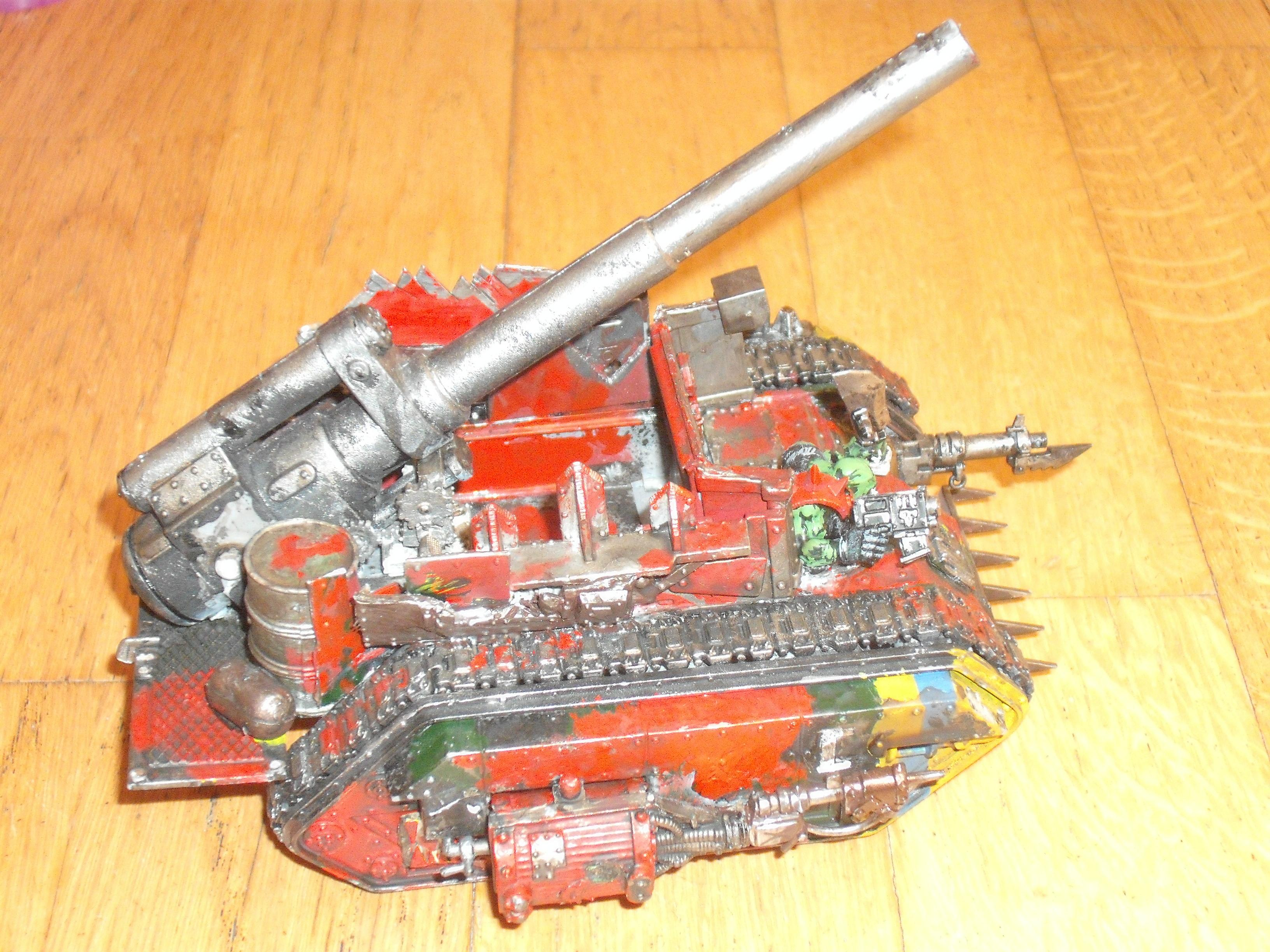 Ork looted vehicle of some description-side view