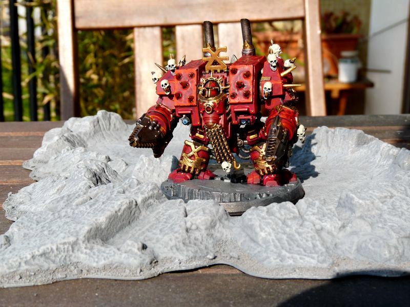 Chaos Space Marines, Conversion, Dreadnought, Khorne, Warhammer 40,000