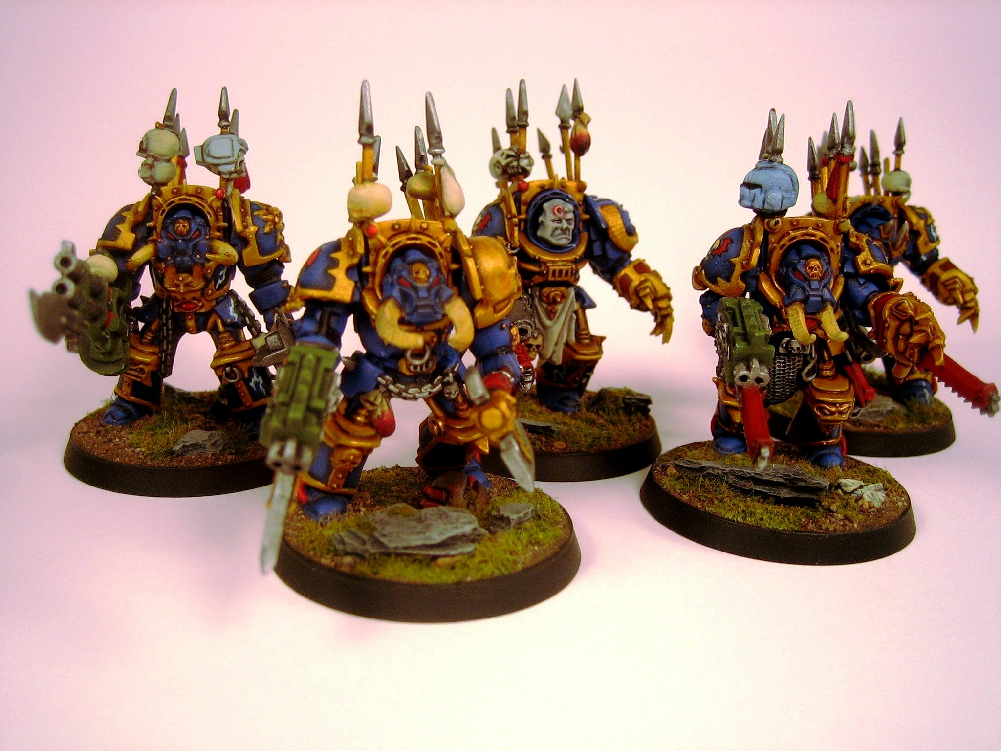Chaos, Nightlords, Terminator Armor