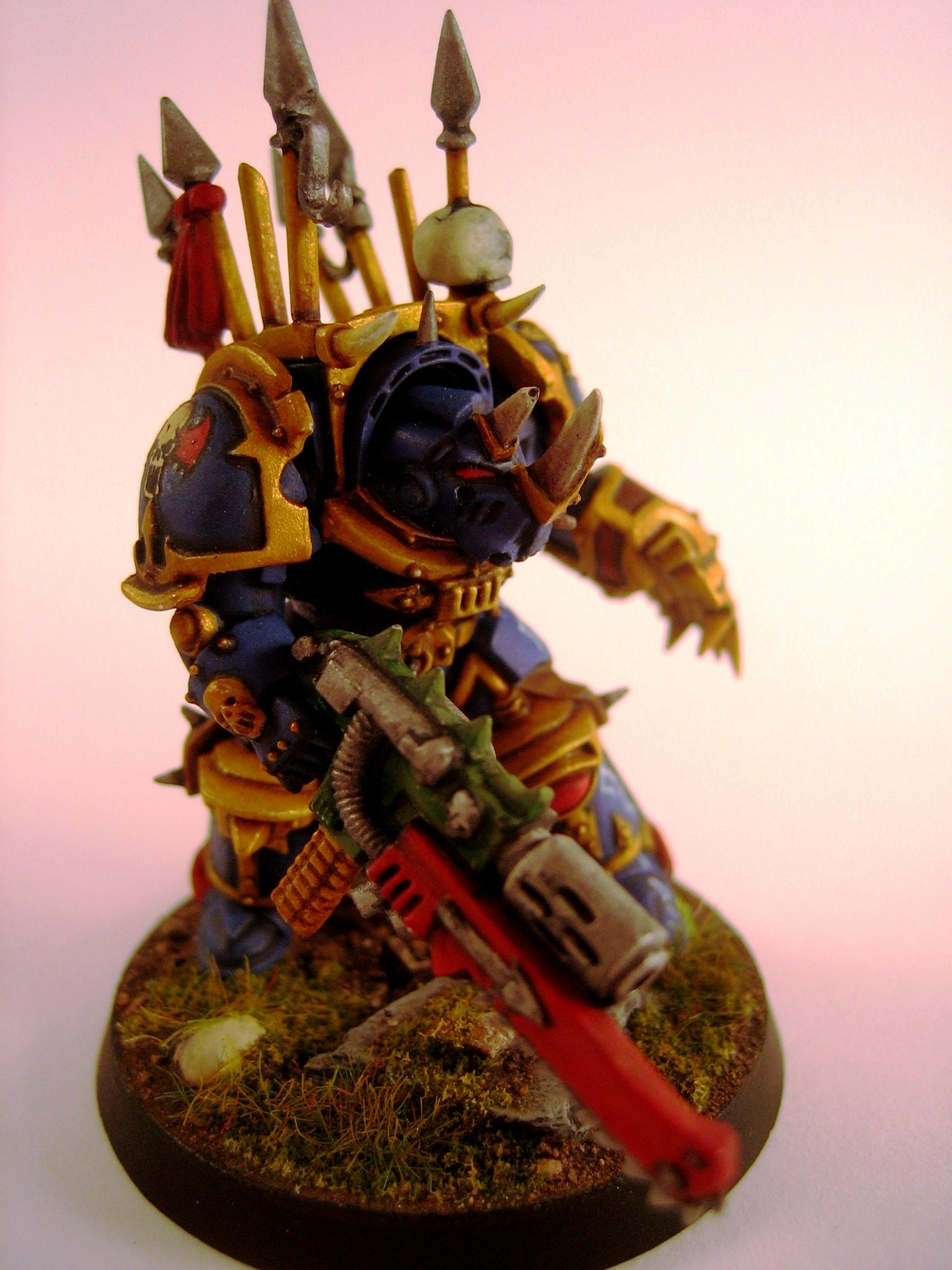 Chaos, Nightlords, Non-Metallic Metal, Terminator Armor