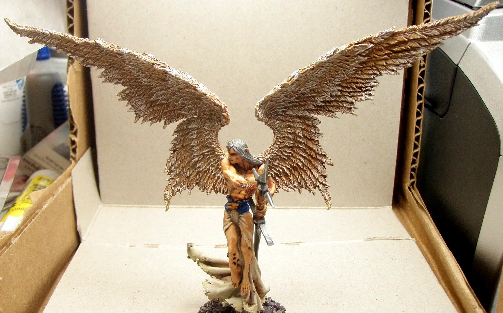 Angel, Freebooter Miniatures, Freebooter's, Work In Progress