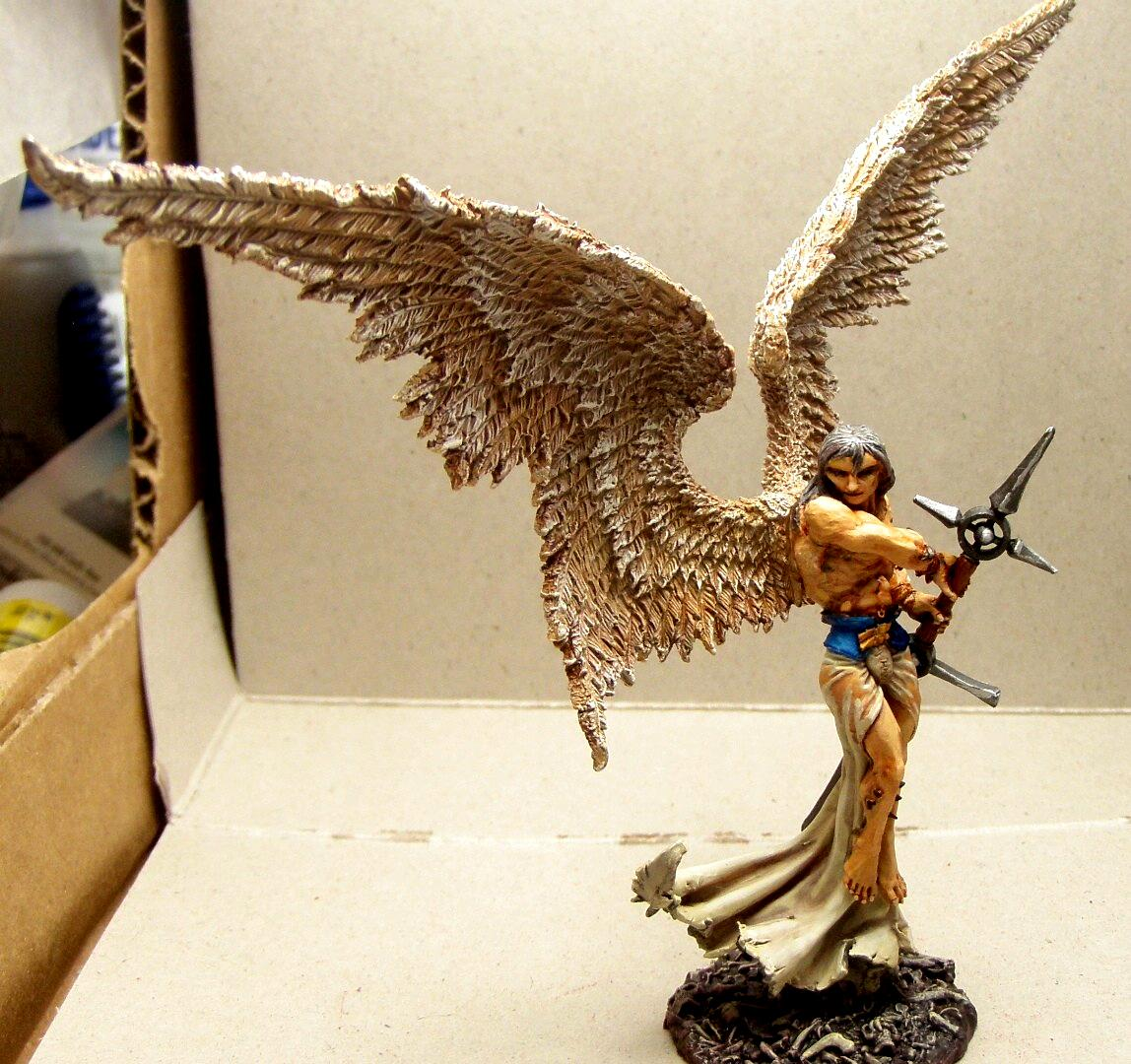 Angel, Freebooter Miniatures, Freebooter's, Work In Progress