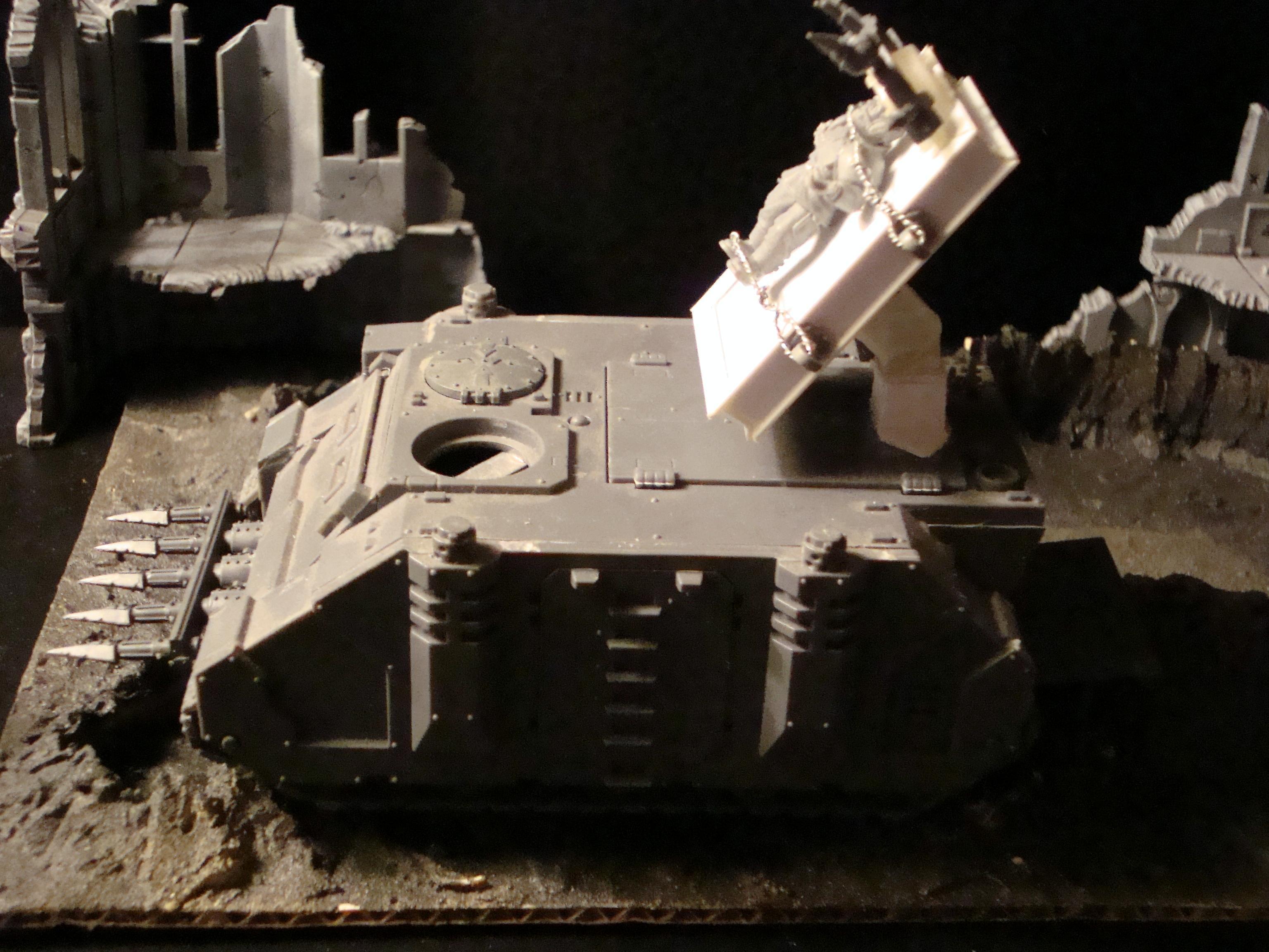 Chaos, Conversion, Rhino, Warhmmer 40k