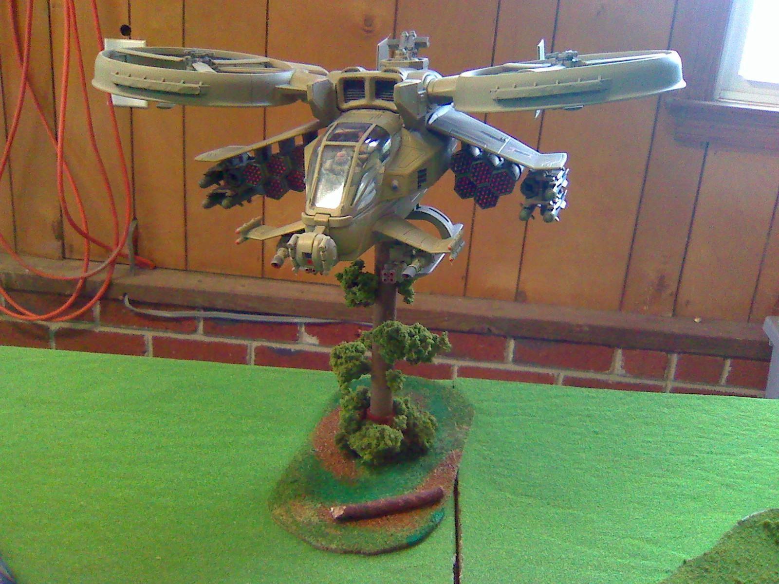 Avatar, Conversion, Gunship, Scorpion, Space Marines