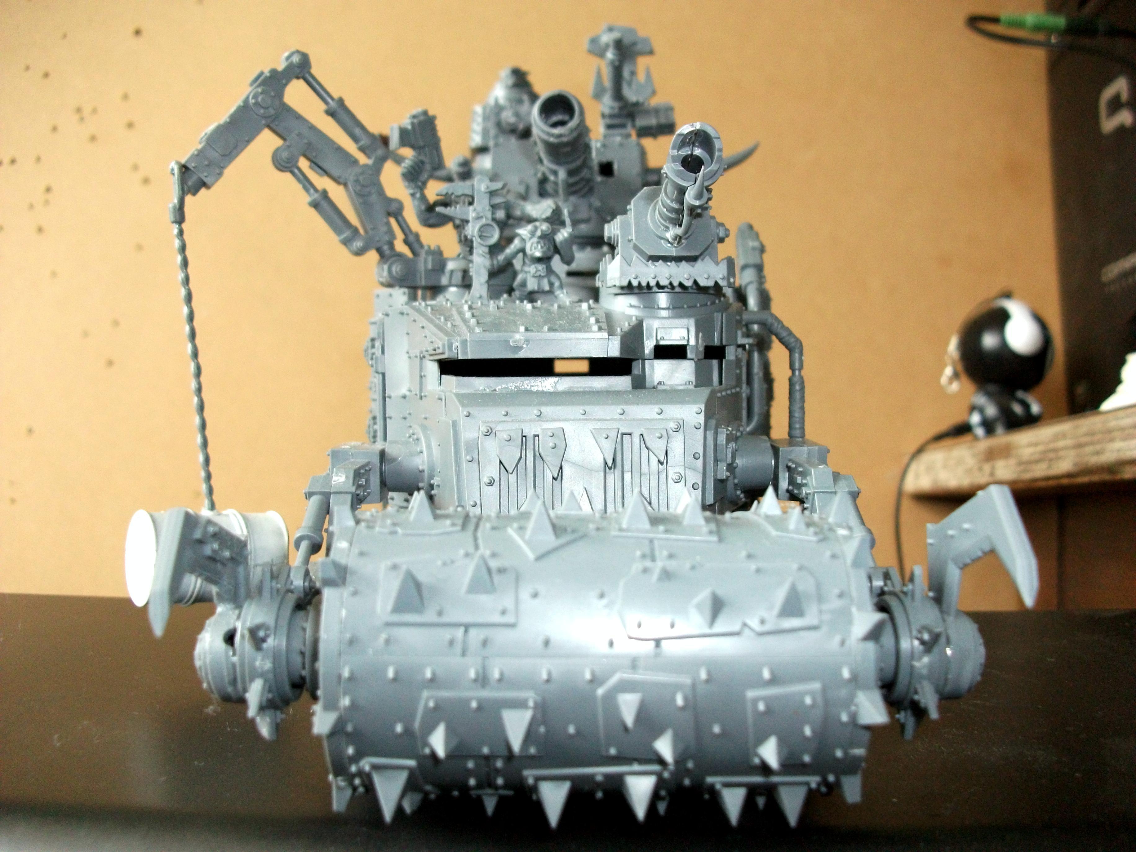 Battlewagon, Orks, Warhammer 40,000, Work In Progress