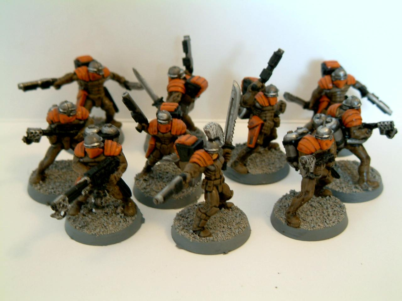 As, Conversion, Counts, Guard, Imperial, Junkers, Legion, Penal, Shotgun, Void
