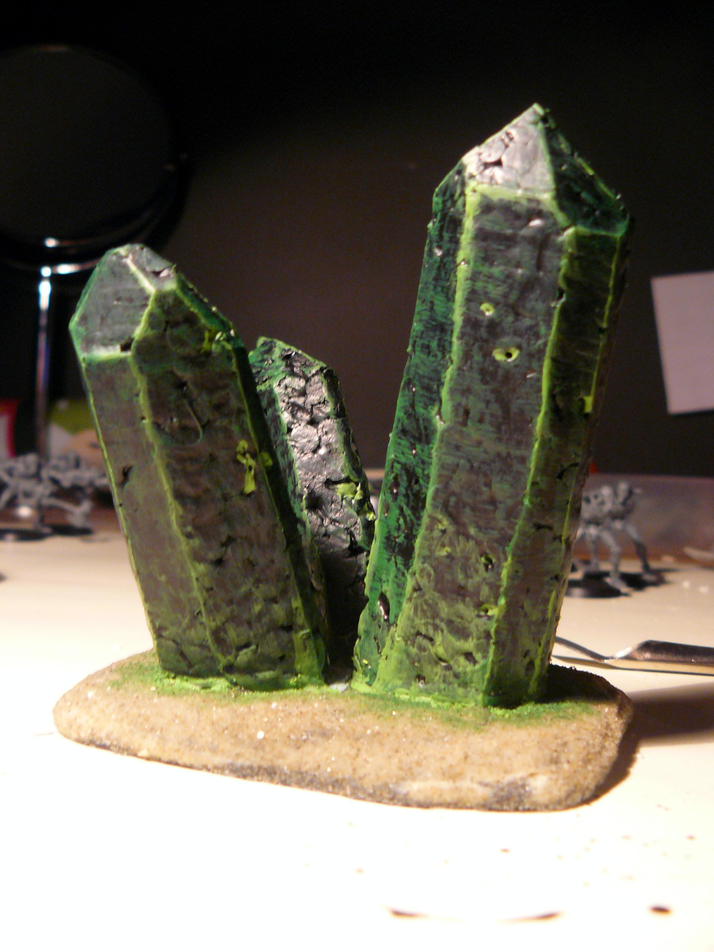 Crystal, Terrain, necron crystals (back)