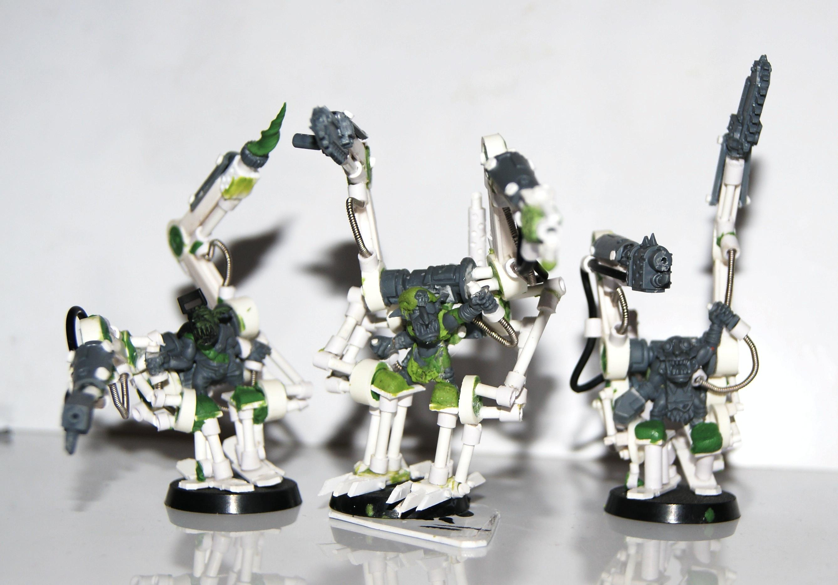 Burna Boyz, Conversion, Grot Rebellion, Grot Rebels, Grots, Warhammer 40,000