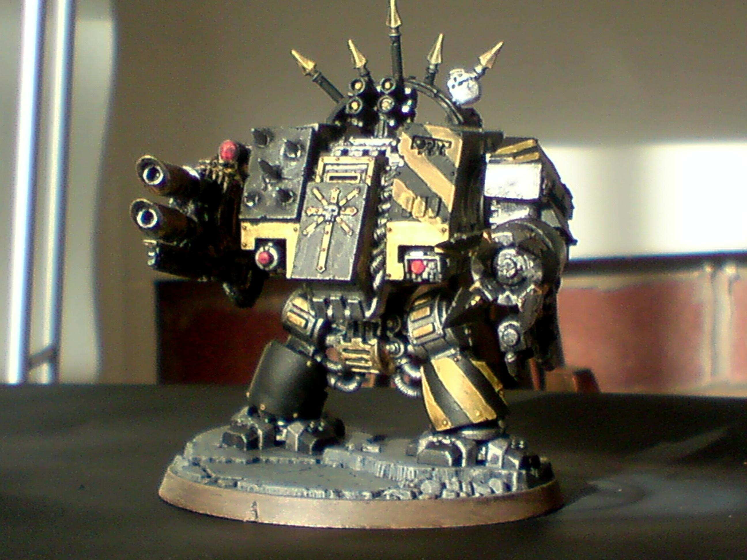 Chaos, Chaos Dreadnought, Chaos Space Marines, Conversion, Dreadnought, Iron Warriors, Warhammer 40,000
