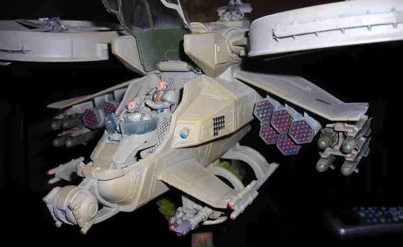 Apocalypse, Avatar Gunship, Flying, Missiles, Space Marines, Warhammer 40,000