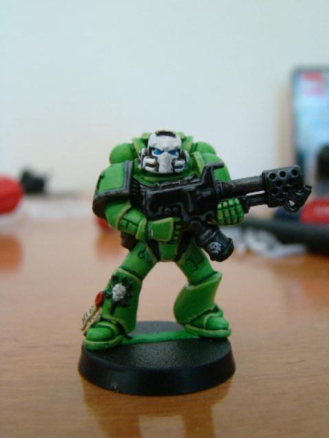Flamer, Sons Of Medusa, Space Marines, Tactical Squad