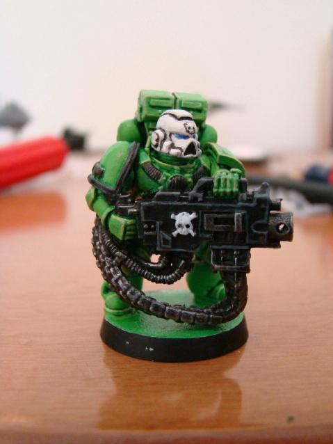 Heavy Bolter, Sons Of Medusa, Space Marines, Tactical Squad