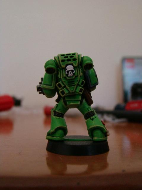 Rear View, Sons Of Medusa, Space Marines, Tactical Squad