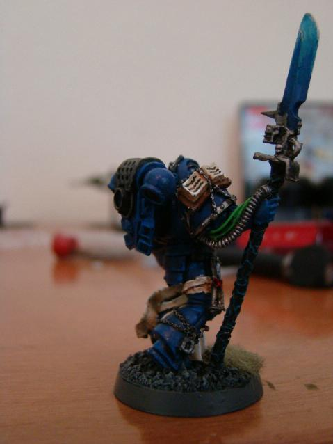 Librarian, Sons Of Medusa, Space Marines
